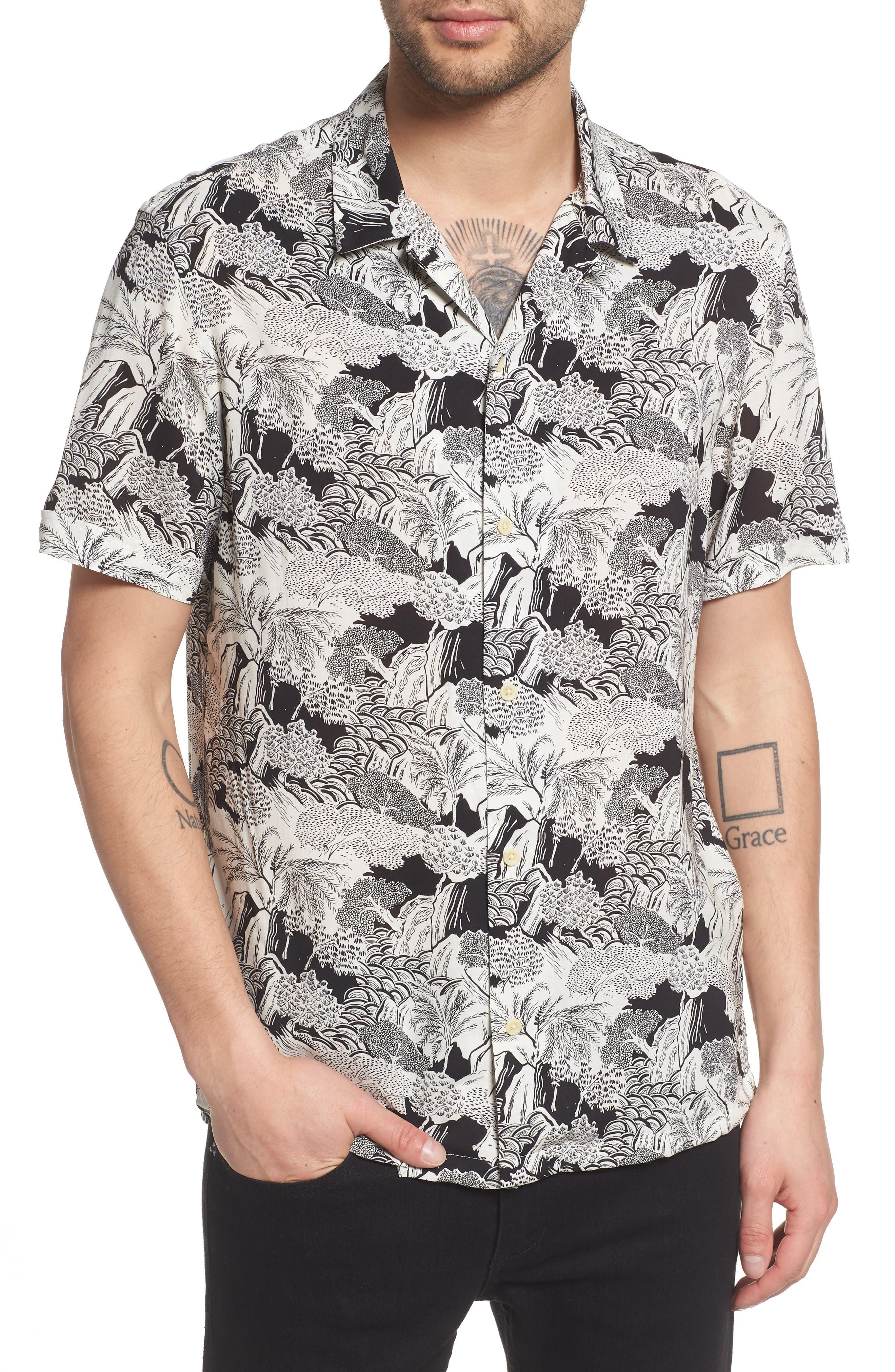 ALLSAINTS Mauna Regular Fit Sport Shirt