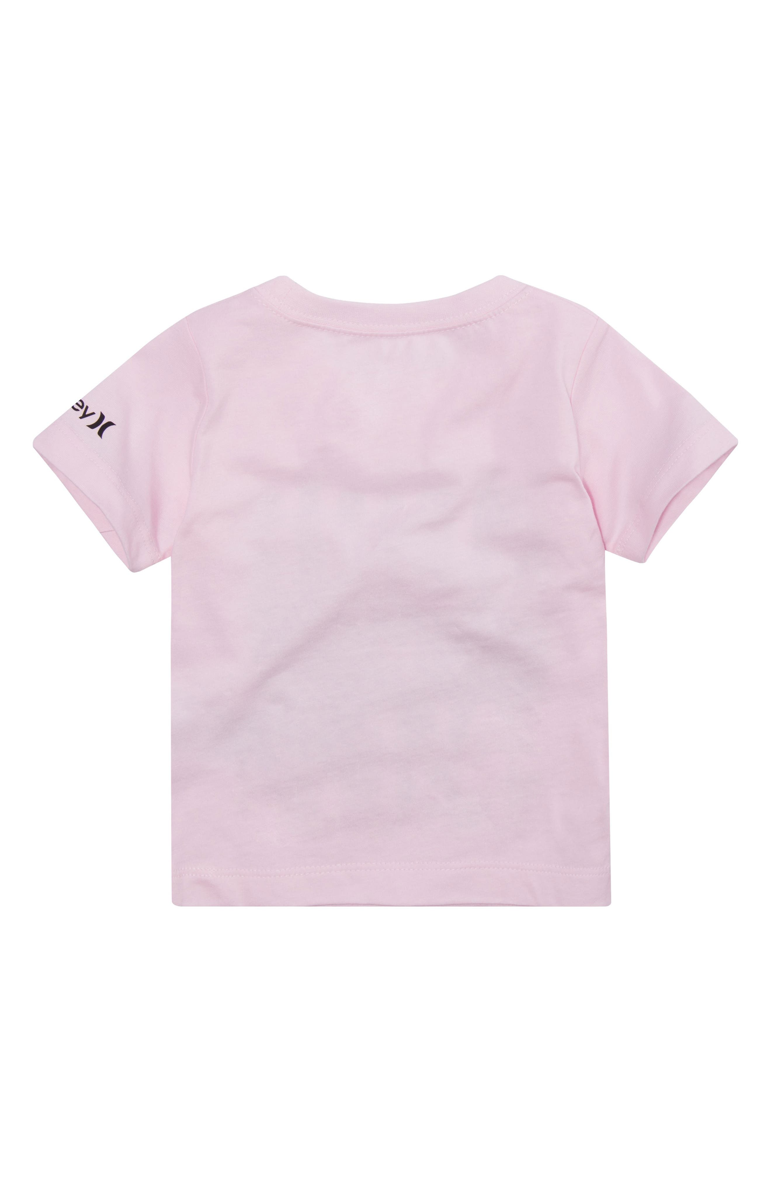 Surf & Enjoy Graphic T-Shirt,                             Alternate thumbnail 2, color,                             Artic Pink