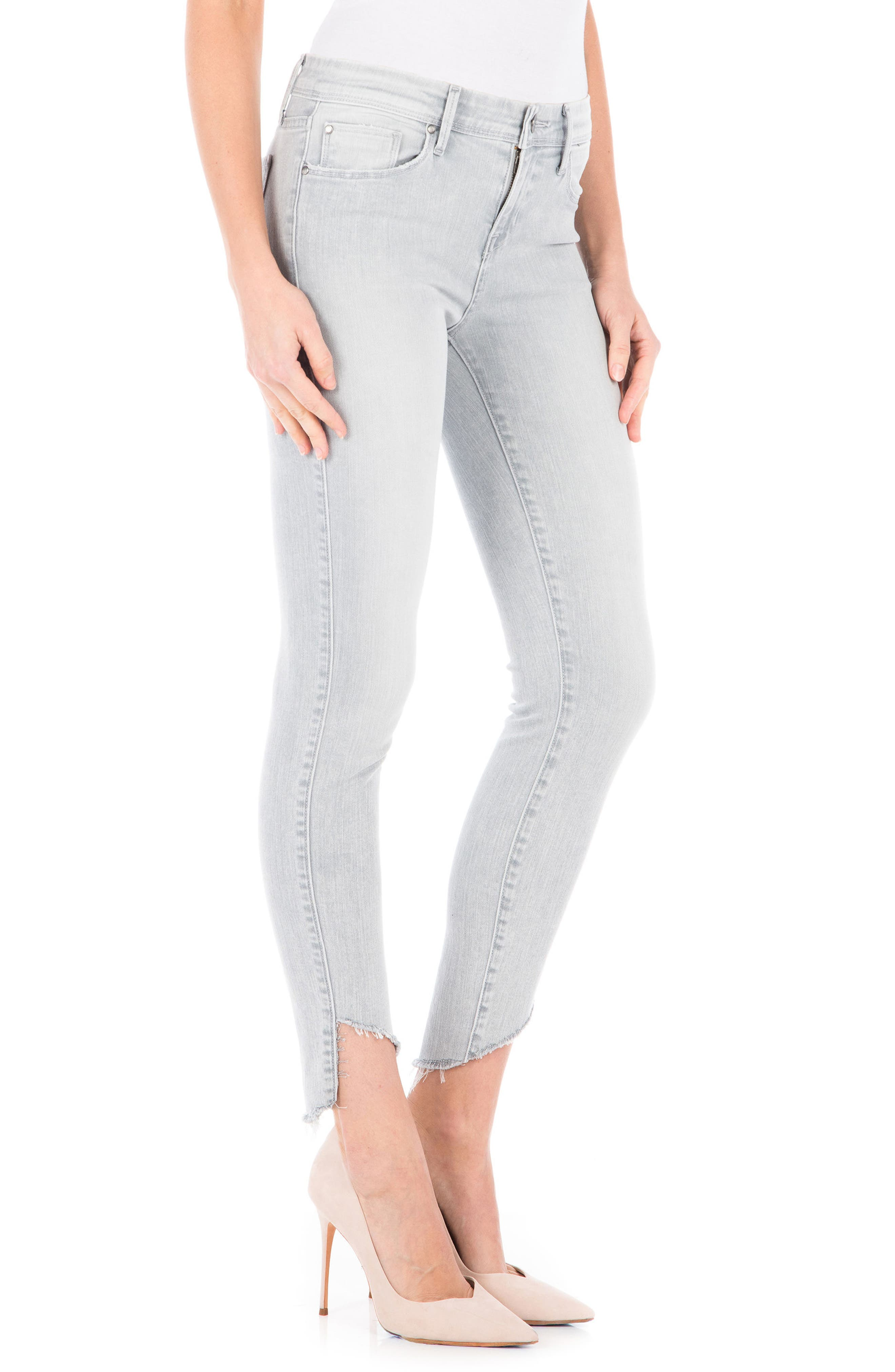 Sola Skinny Jeans,                             Alternate thumbnail 3, color,                             Quartz