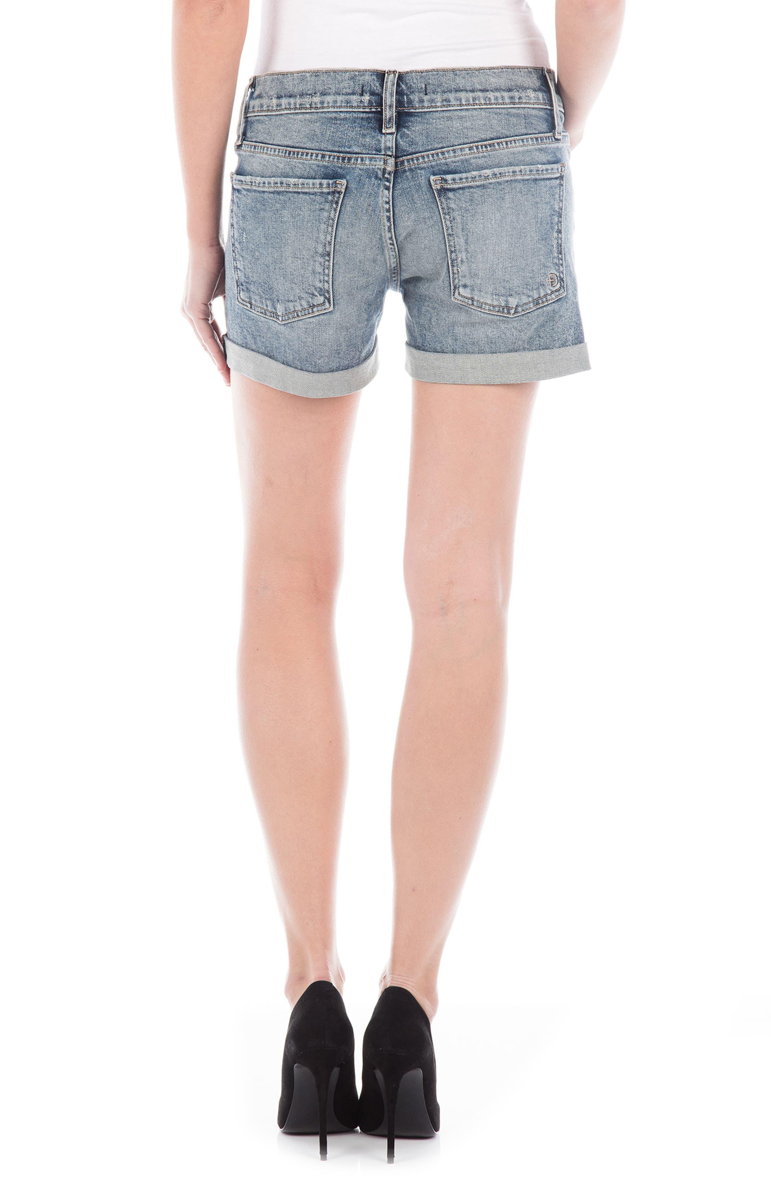 Malibu Denim Shorts,                             Alternate thumbnail 2, color,                             Bondai
