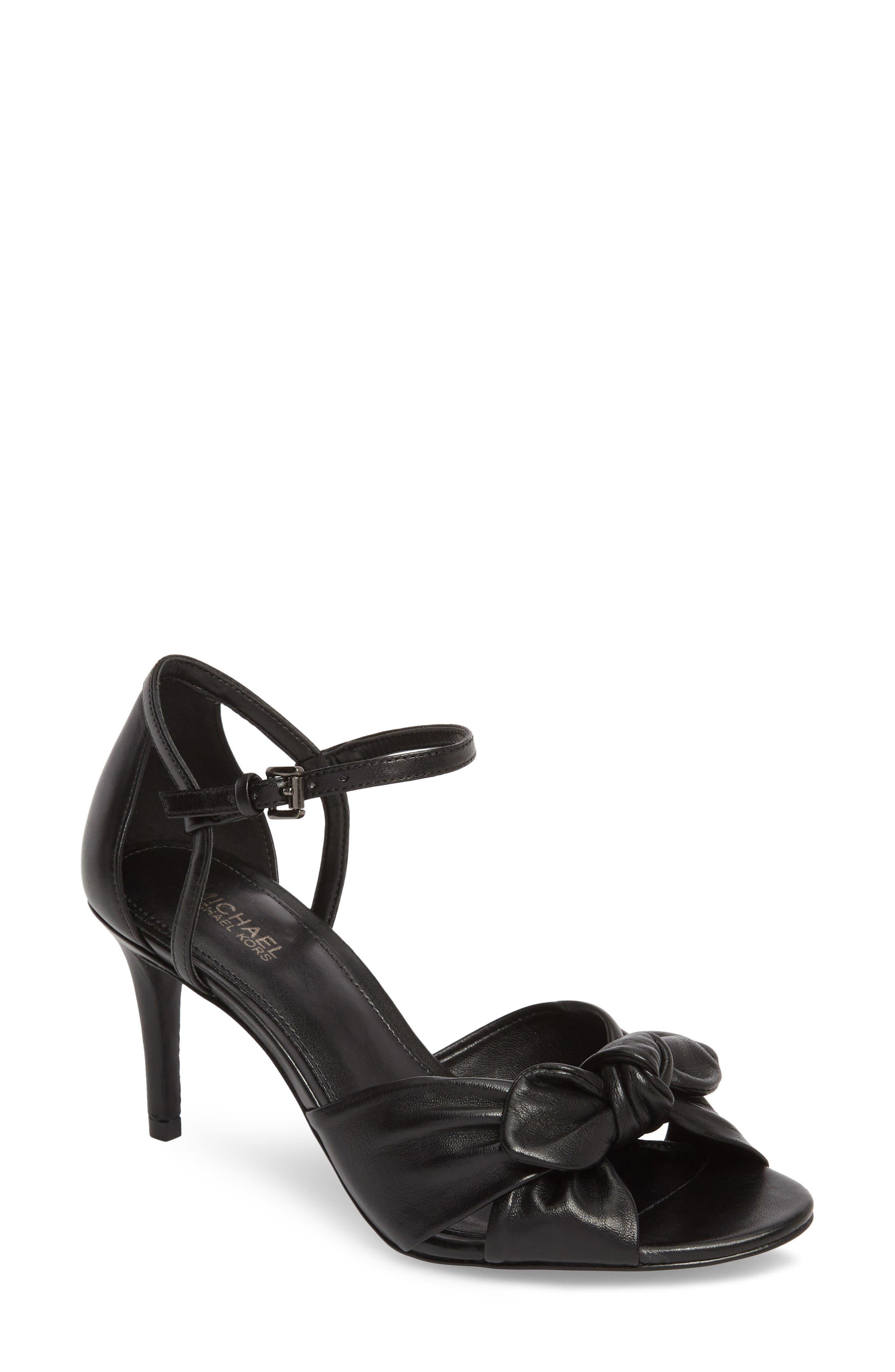 Pippa Sandal,                             Main thumbnail 1, color,                             Black