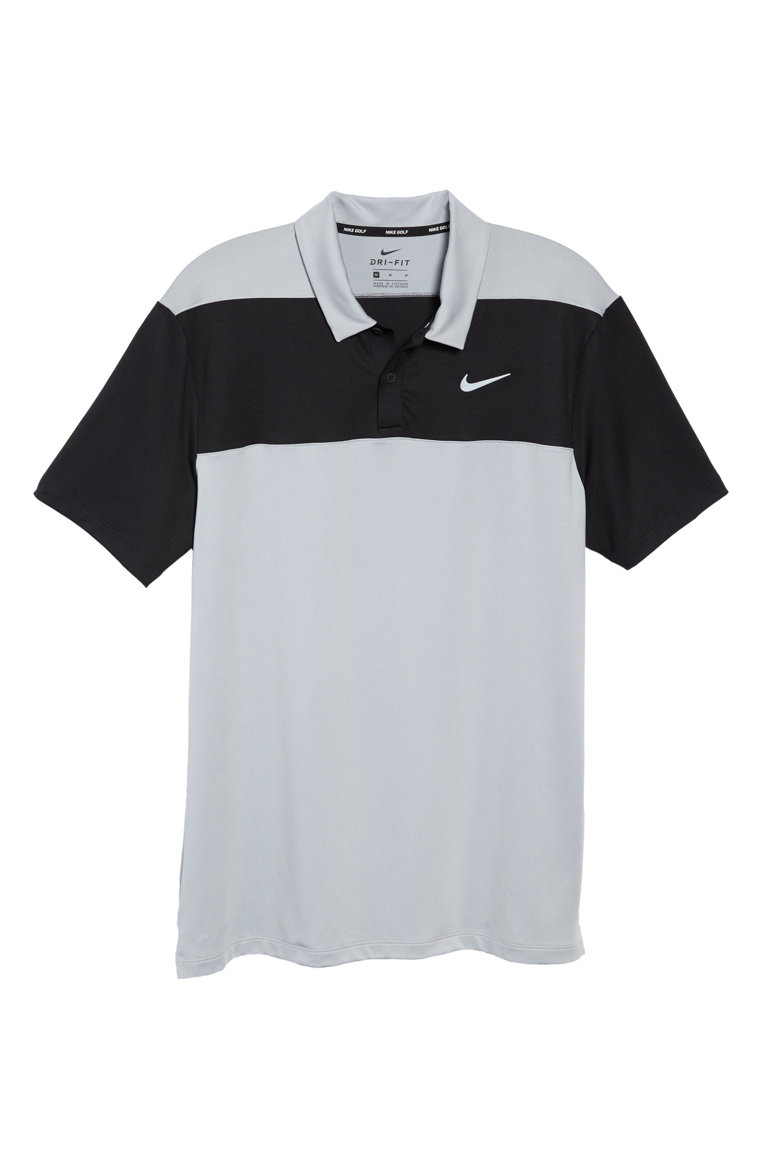 Golf Dry Color Polo,                             Alternate thumbnail 6, color,                             Wolf Grey/ Black/ Cool Grey