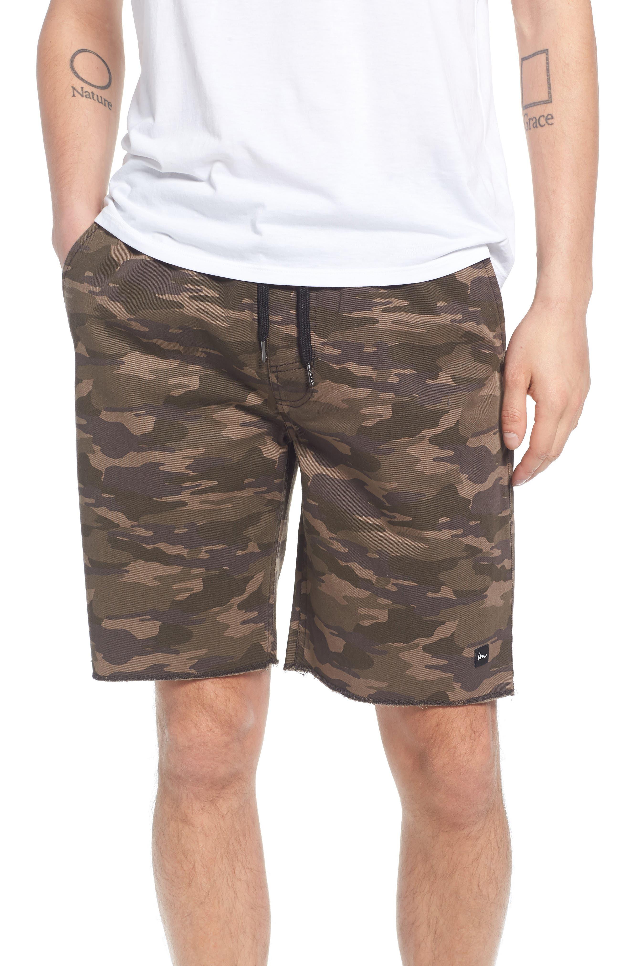 Denny Shorts,                         Main,                         color, Camo