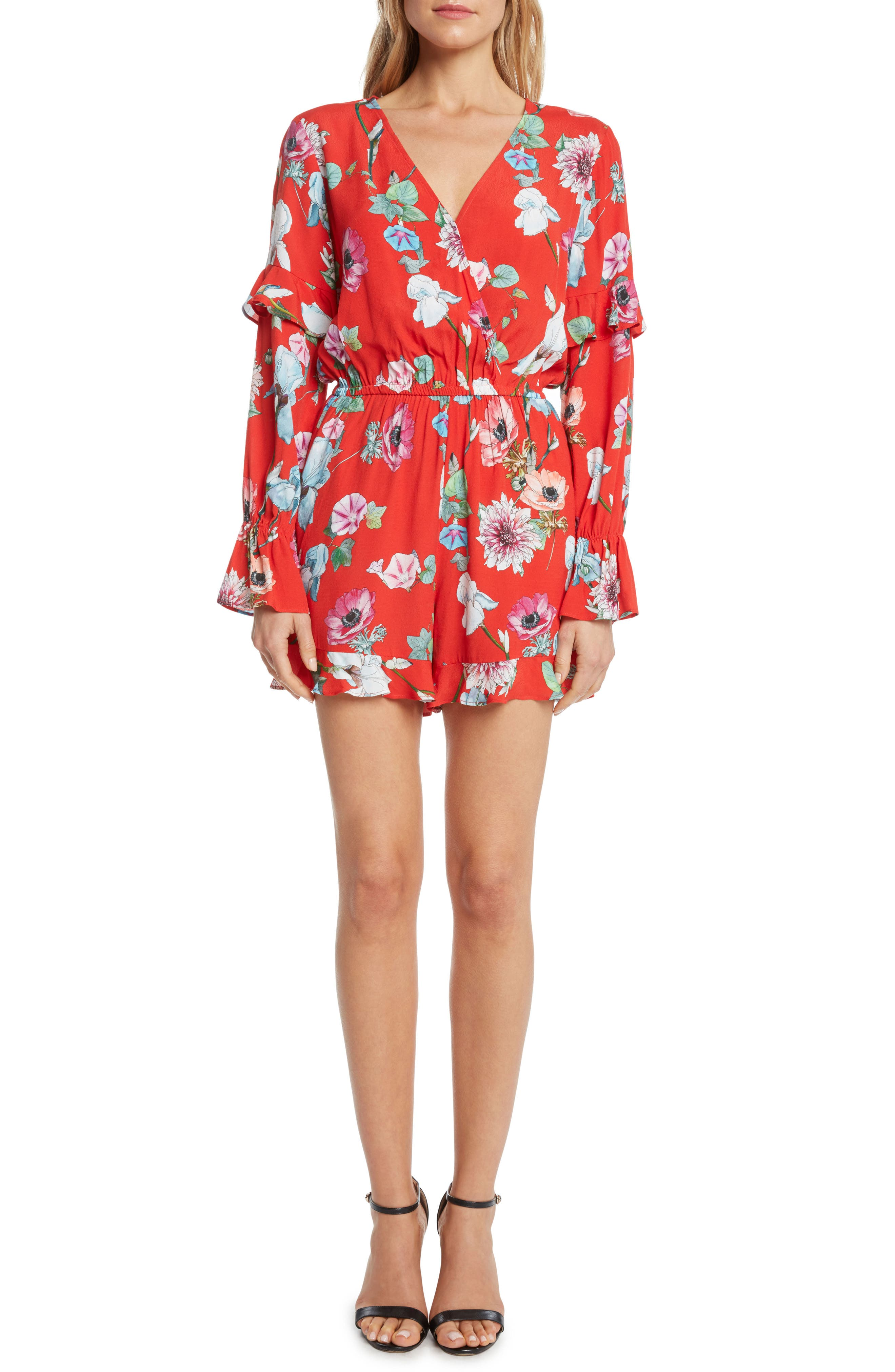 Willow & Clay Print Romper