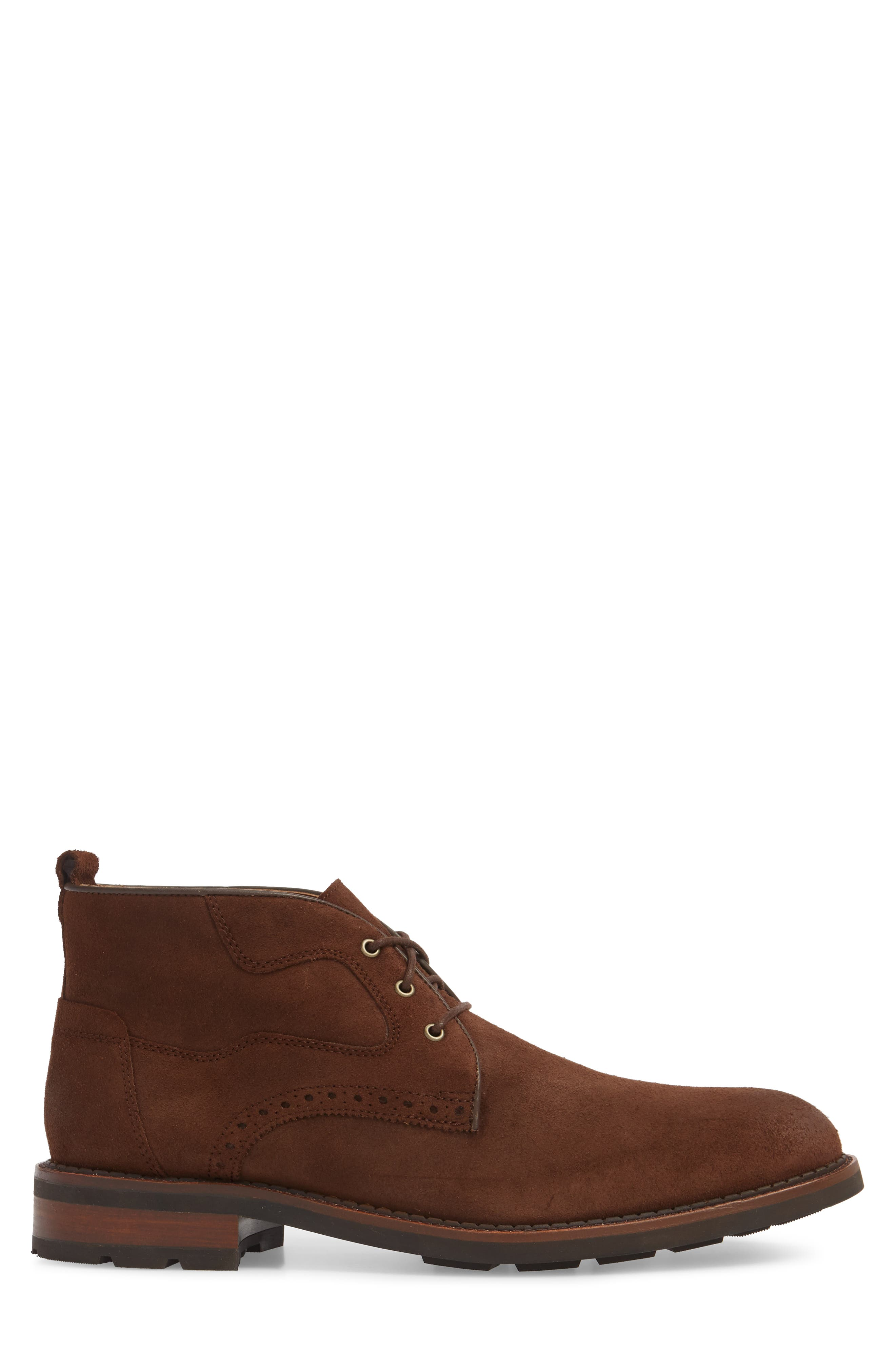 Fullerton Chukka Boot,                             Alternate thumbnail 3, color,                             Dark Brown