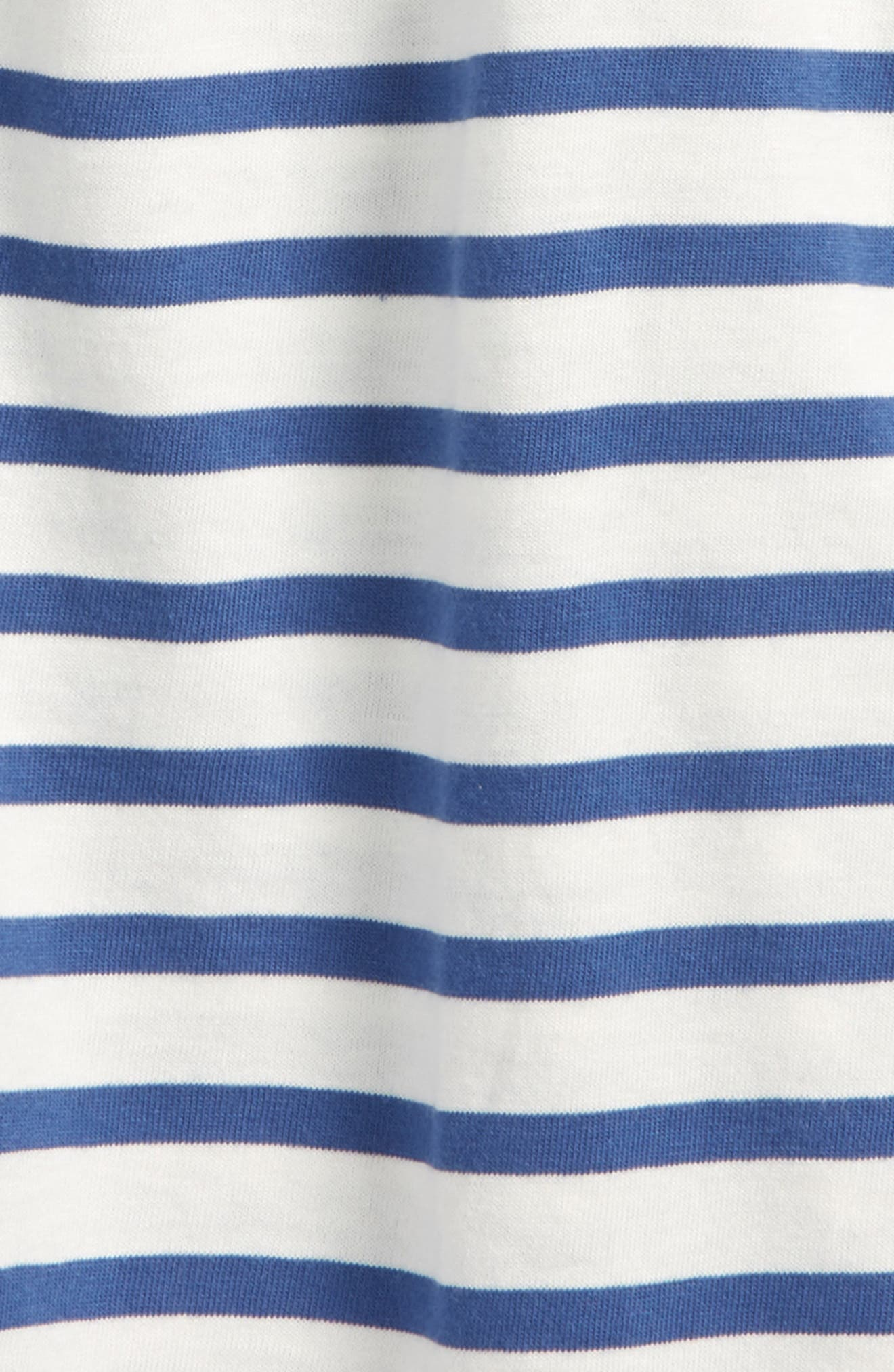 Stripe Summer Tank,                             Alternate thumbnail 2, color,                             Cobalt
