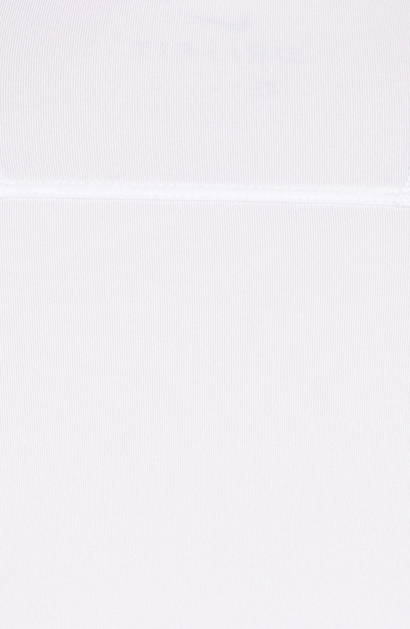 Dry Dynamic Slim Fit Polo,                             Alternate thumbnail 5, color,                             White/ Silver