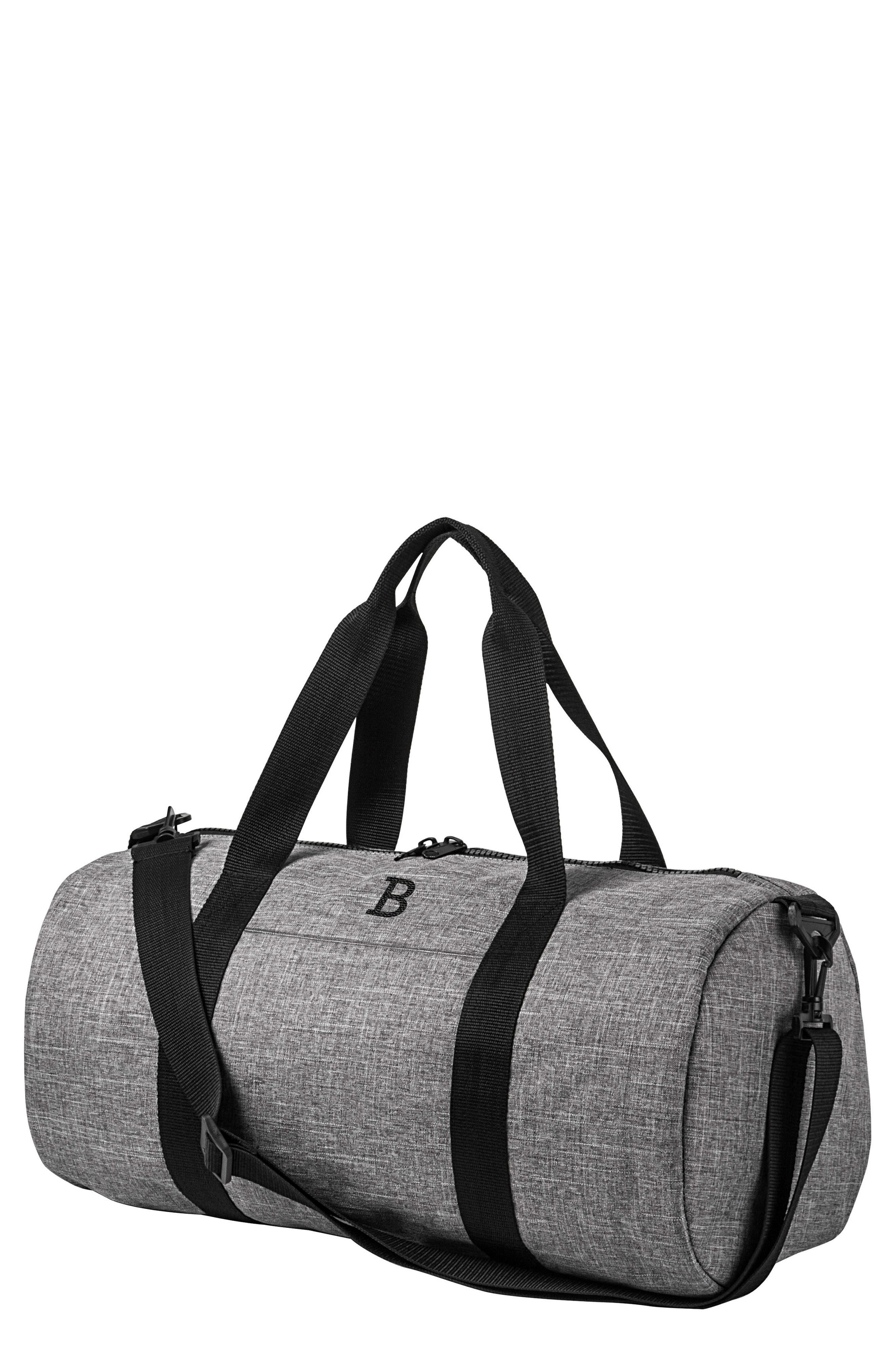 Monogram Duffel Bag,                             Main thumbnail 1, color,                             Grey B