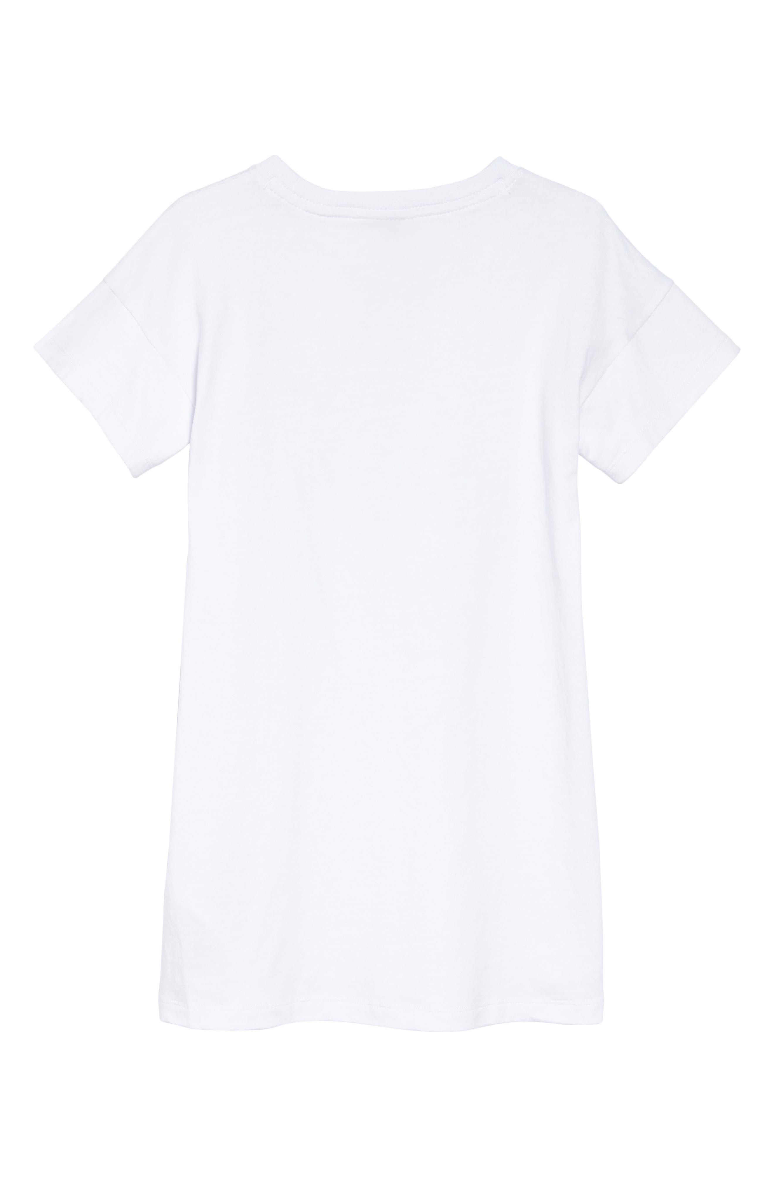 Alternate Image 3  - Nike Futura T-Shirt Dress (Toddler Girls & Little Girls)
