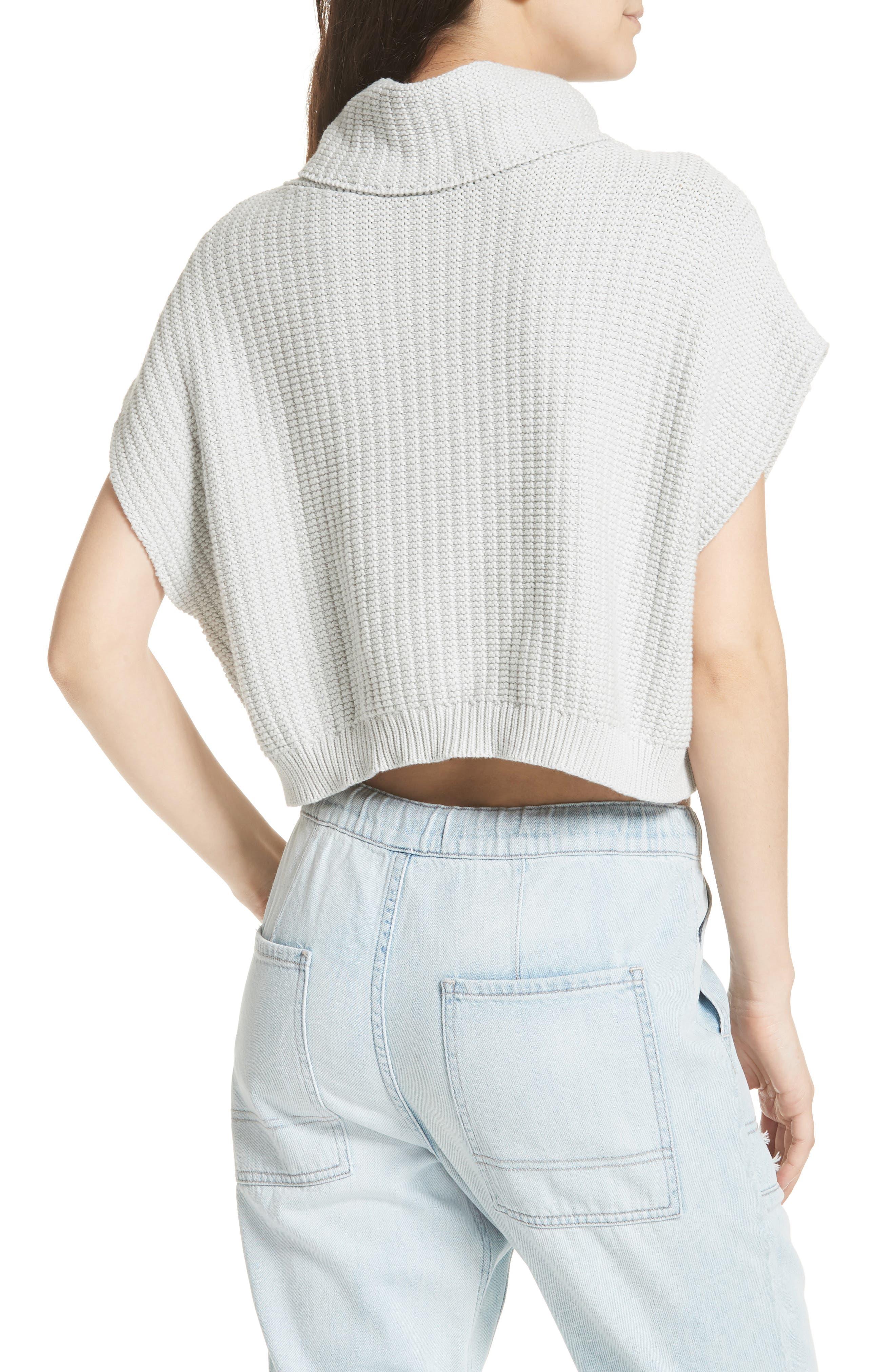 Keep It Simple Vest,                             Alternate thumbnail 2, color,                             Light Grey