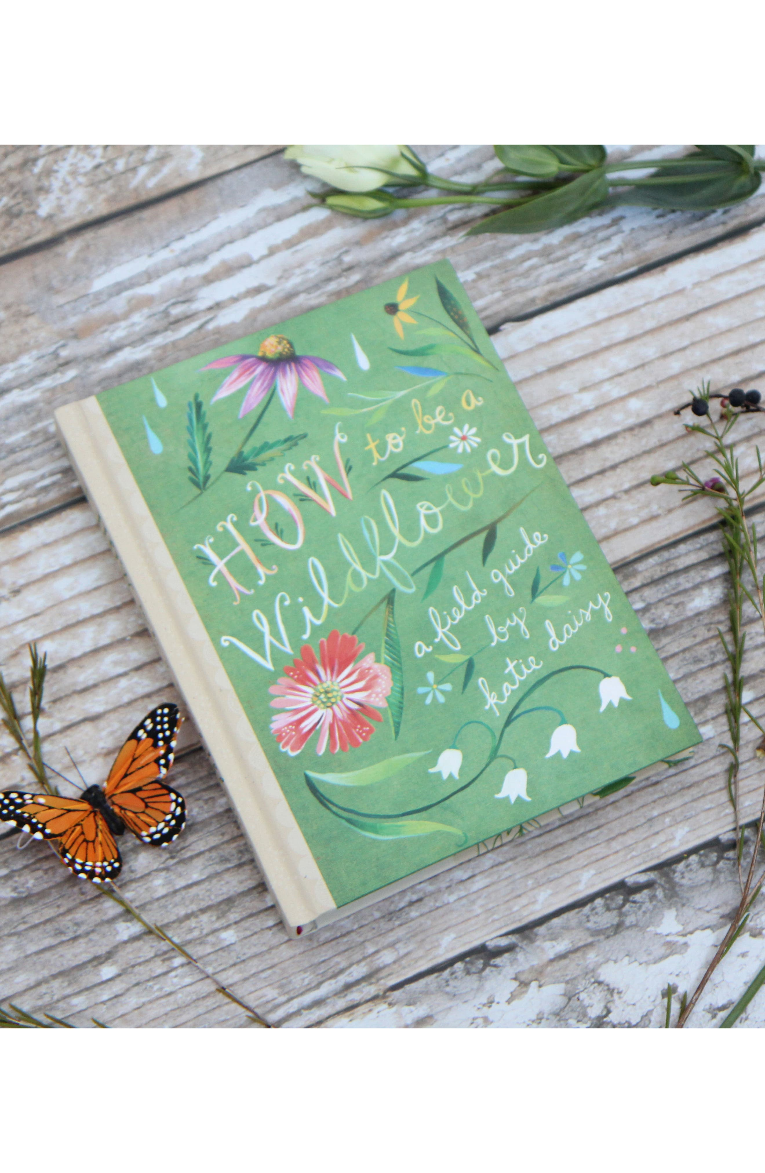 How To Be A Wildflower Book,                             Alternate thumbnail 3, color,                             Green