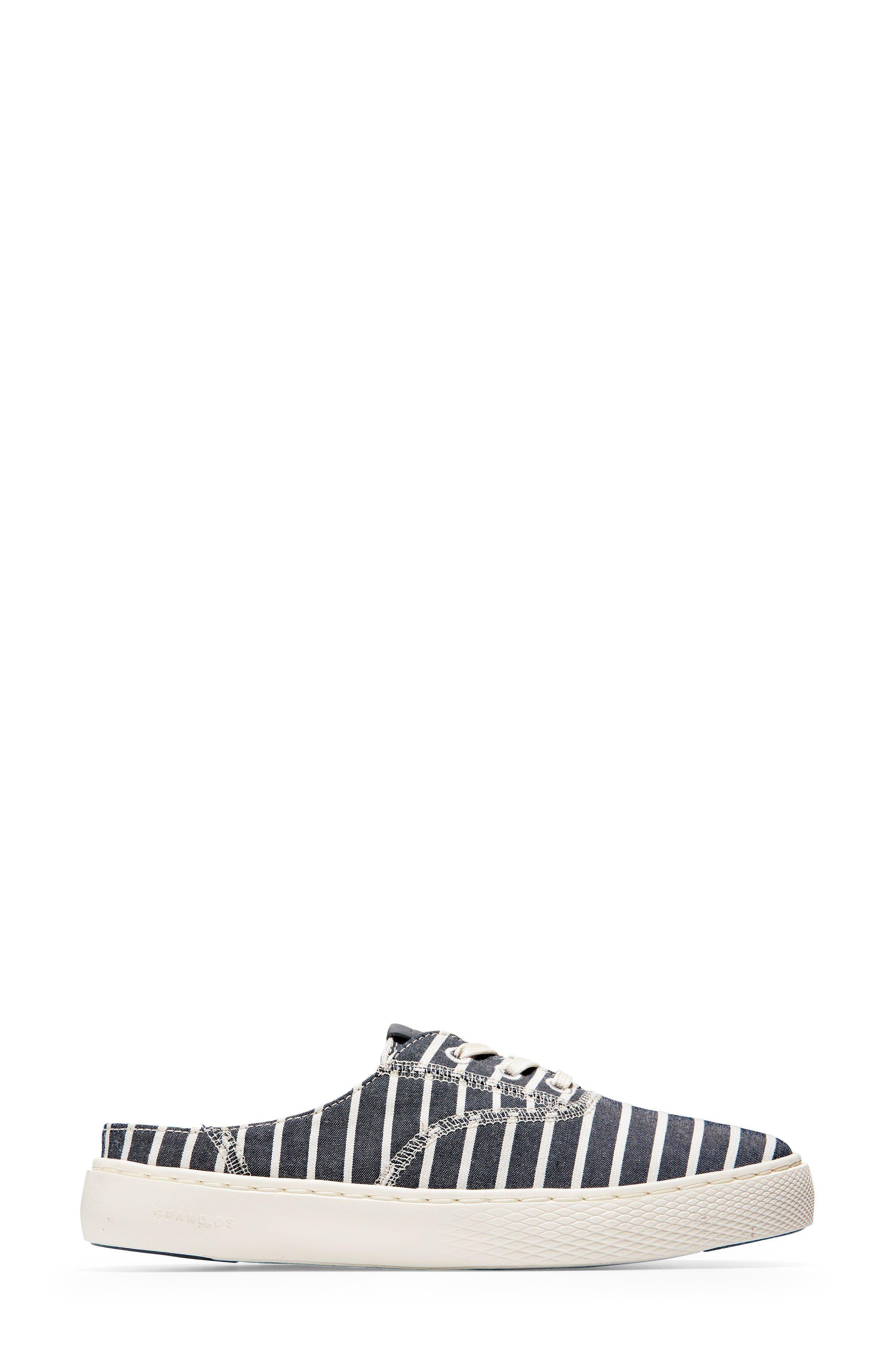 GrandPro Deck Sneaker,                             Alternate thumbnail 3, color,                             Freeport Stripe Fabric