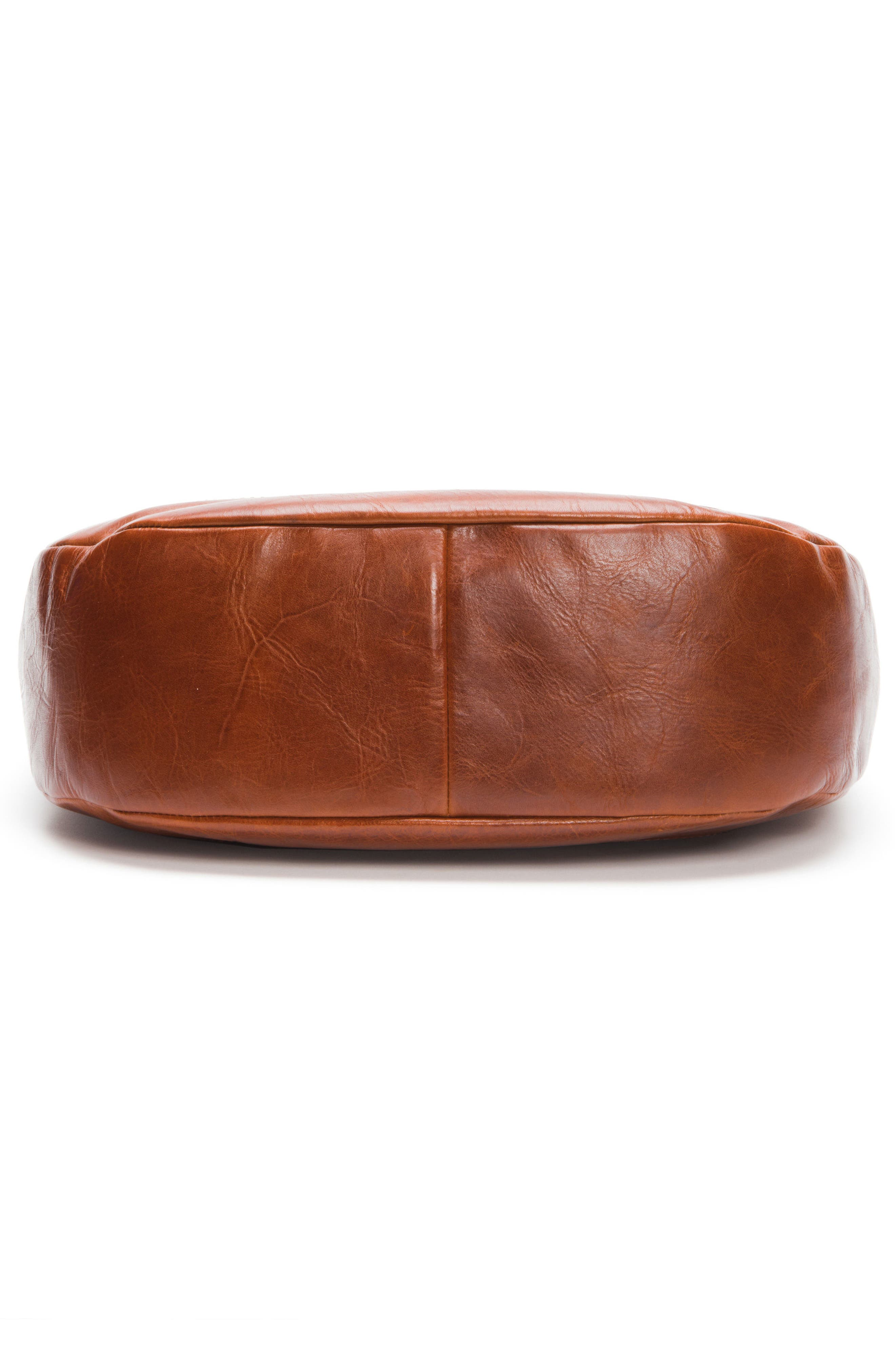 Melissa Leather Hobo,                             Alternate thumbnail 4, color,                             Red Clay