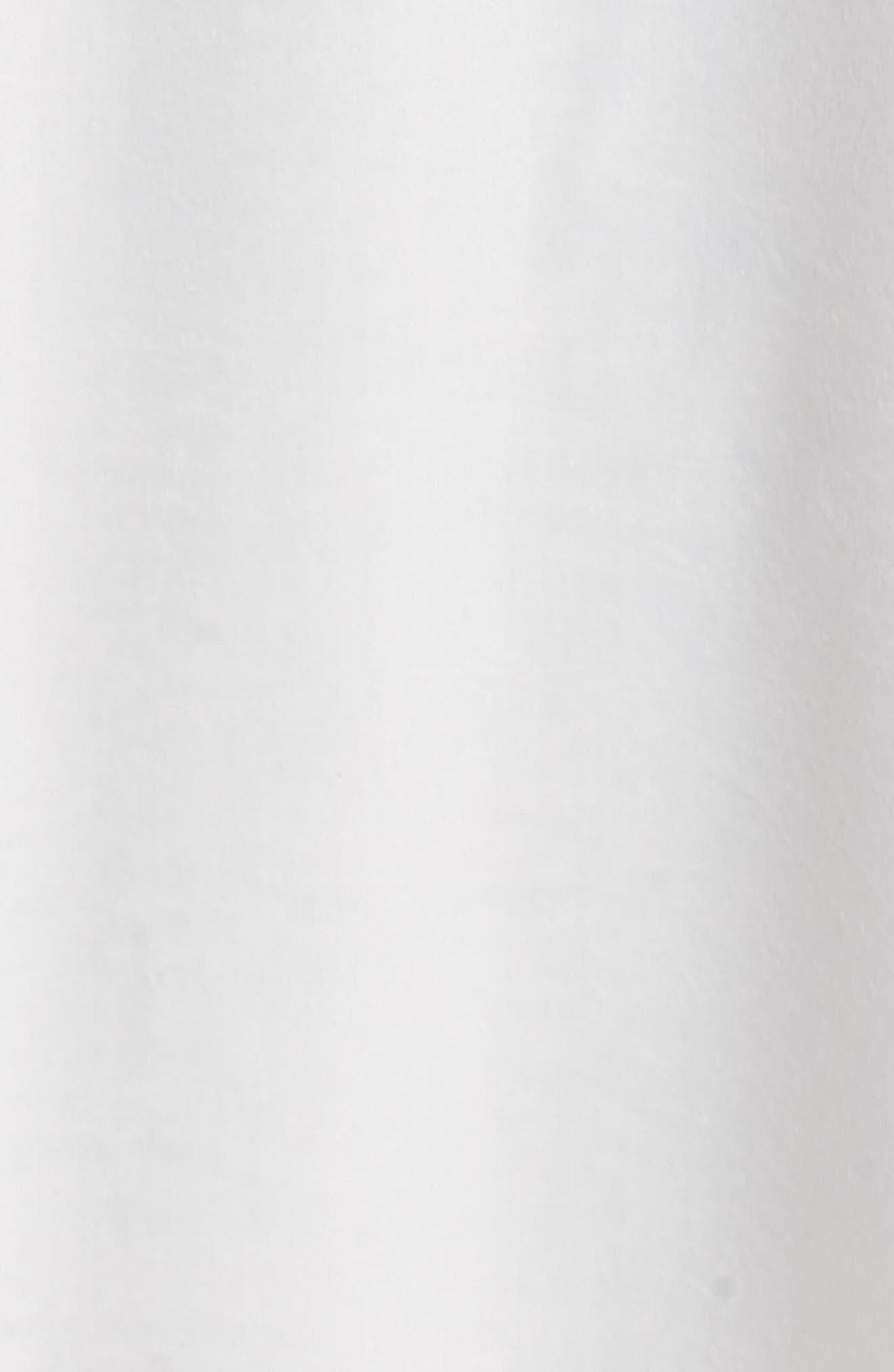 Jen Maxi Gown,                             Alternate thumbnail 5, color,                             Ivory Sheen