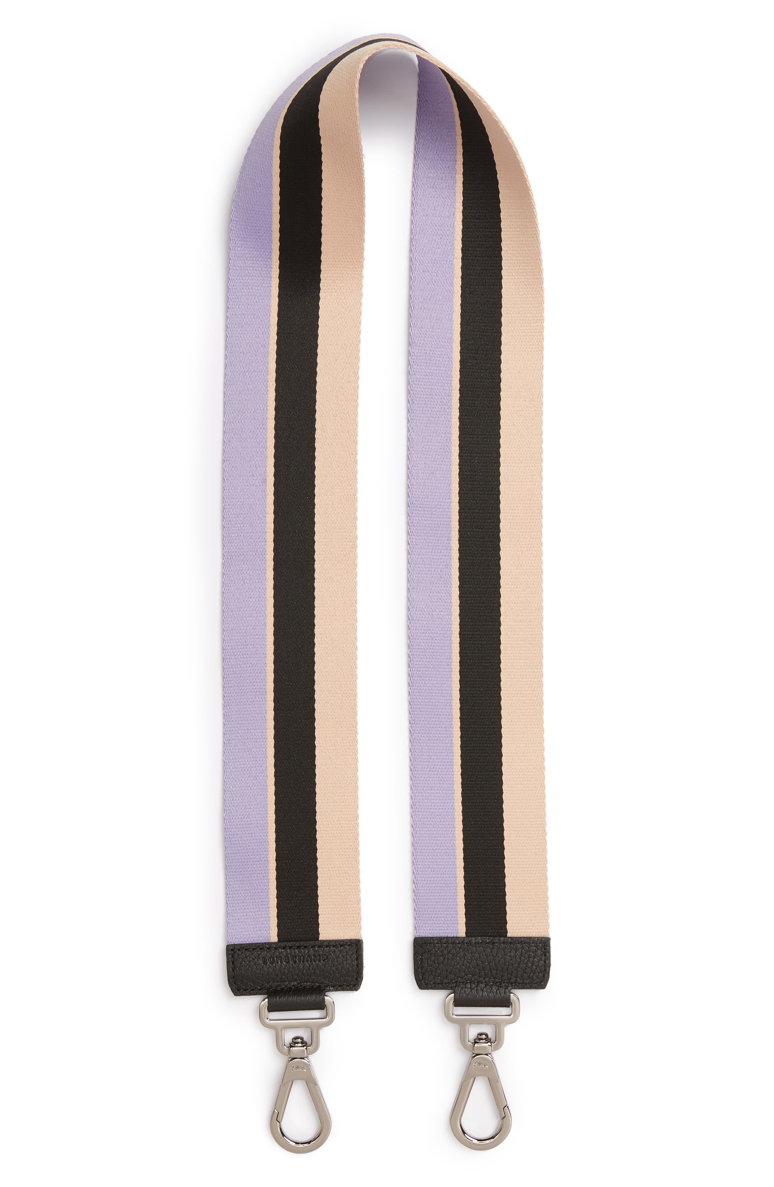 Longchamp Madeleine Stripe Shoulder Strap