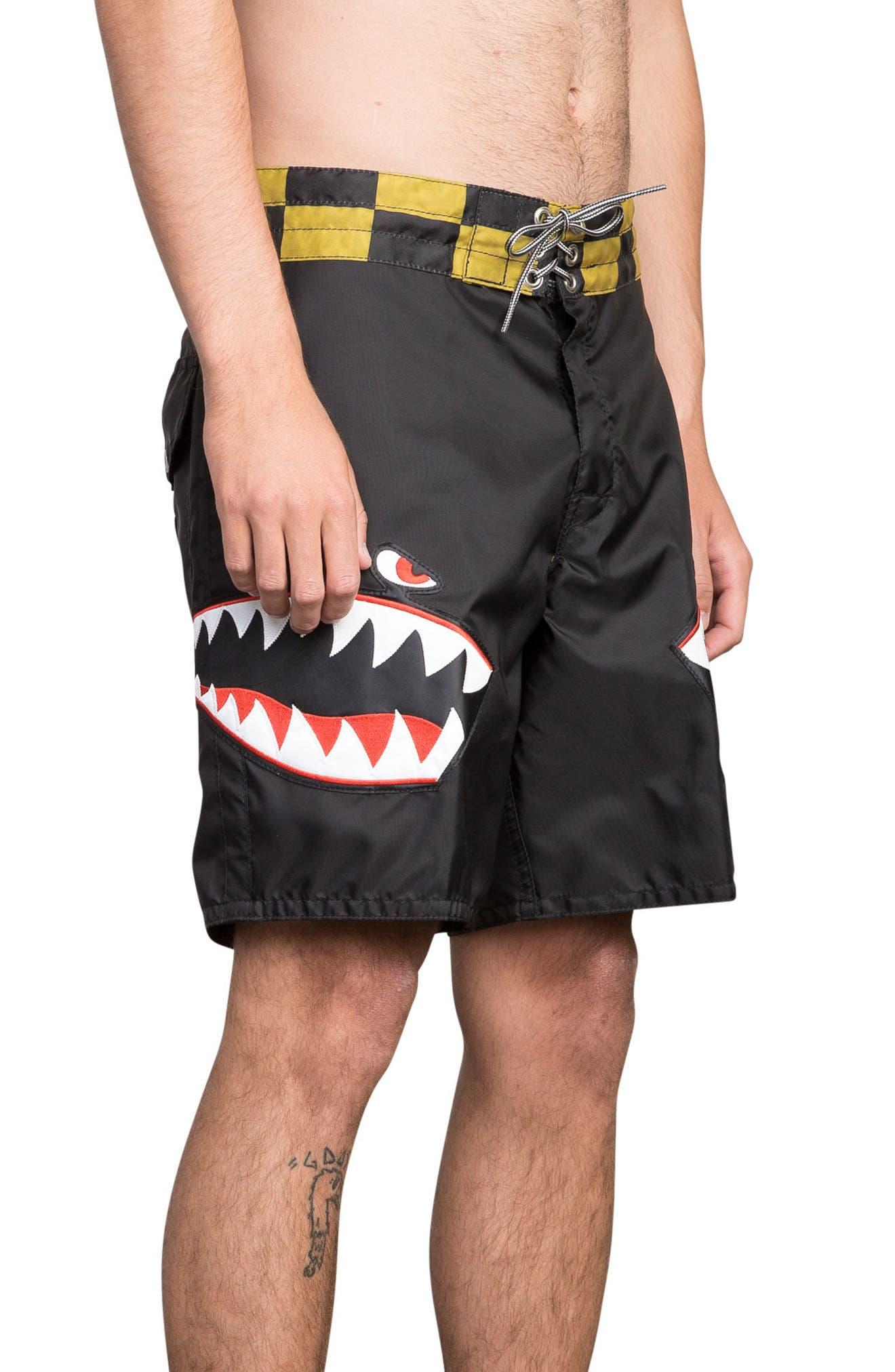x Birdwell Squadron Board Shorts,                             Alternate thumbnail 3, color,                             Black