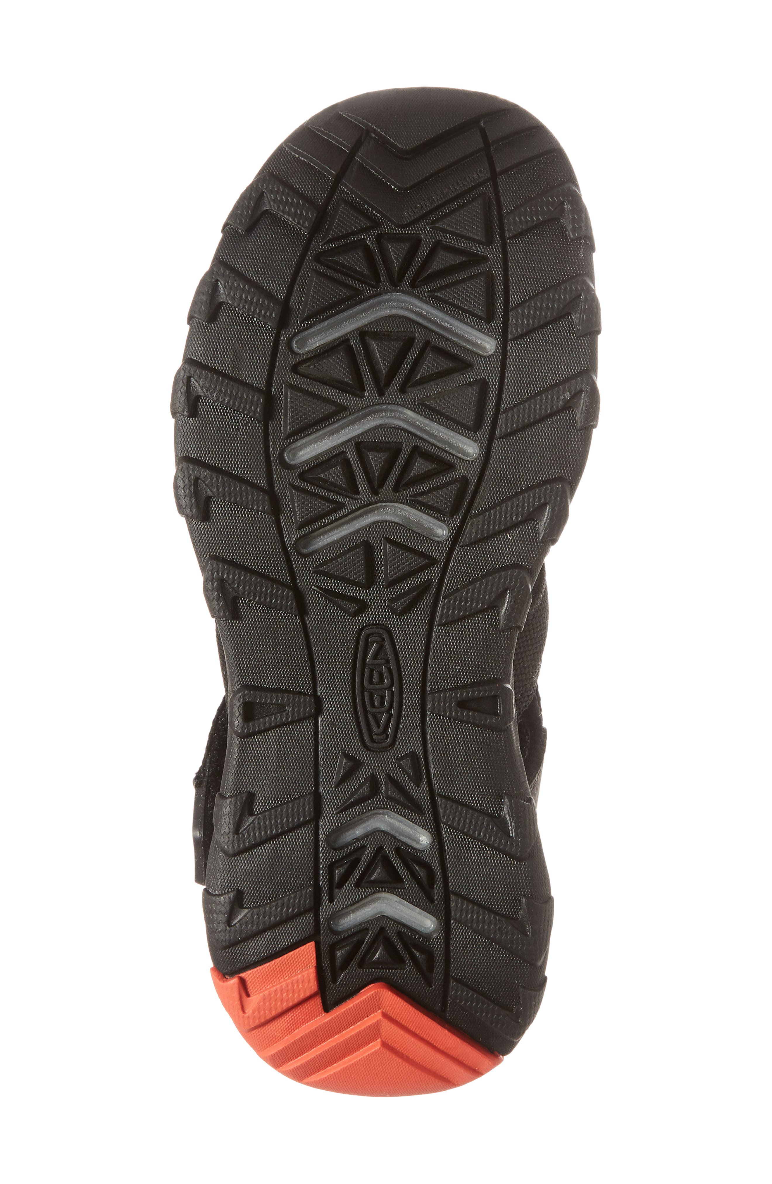 Newport Neo H2 Water Friendly Sandal,                             Alternate thumbnail 6, color,                             Black/ Fiery Red