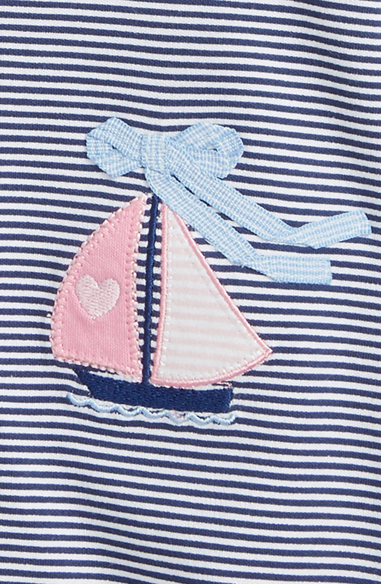Sailboat 2-Pack Rompers,                             Alternate thumbnail 2, color,                             Blue Multi