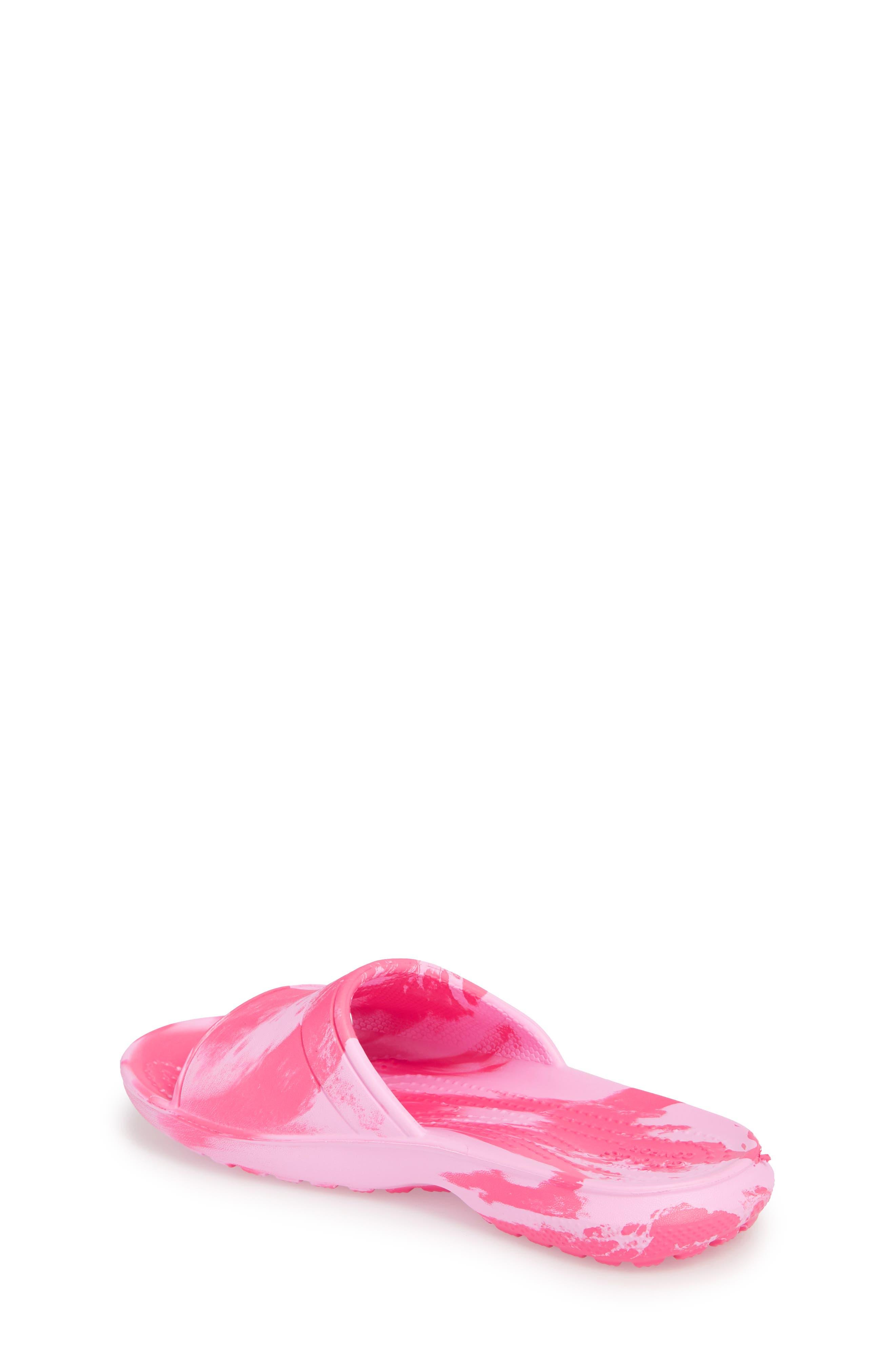 Classic Swirl Slide,                             Alternate thumbnail 2, color,                             Paradise Pink