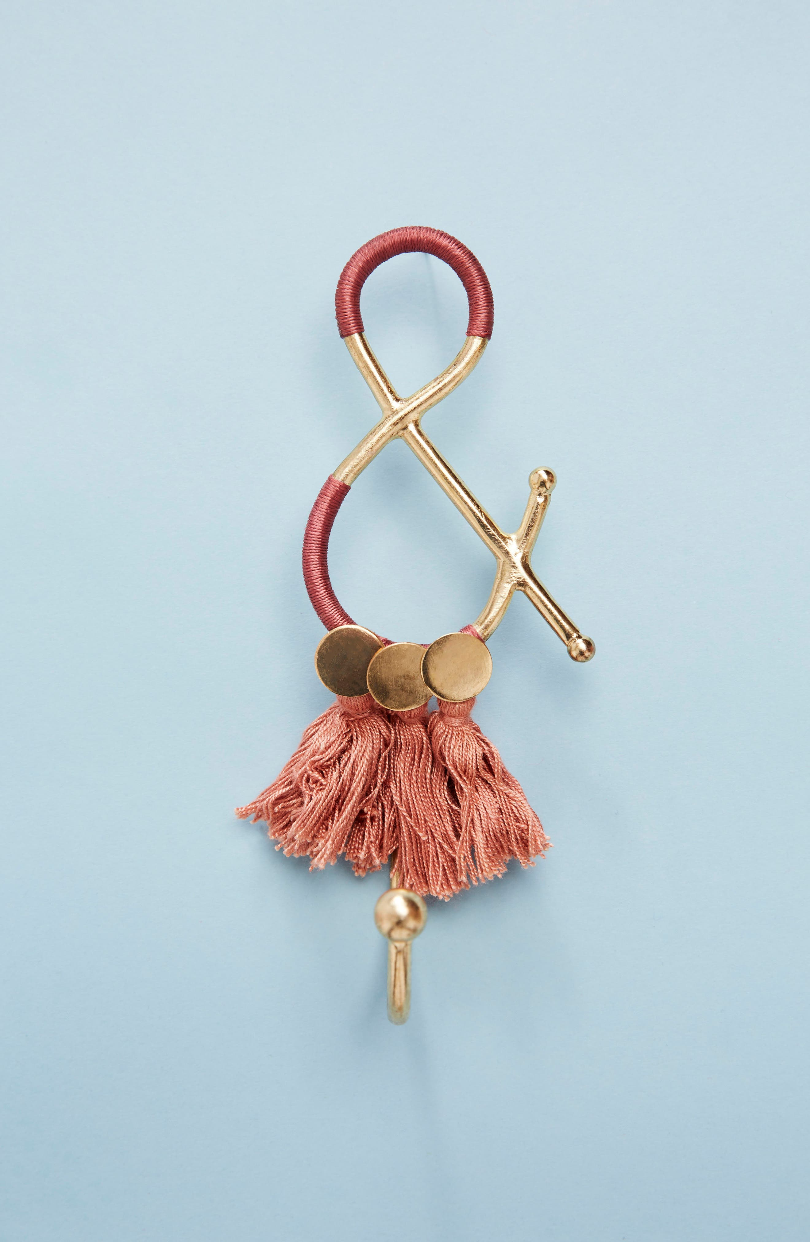 Anthropologie Fringe Monogram Hook