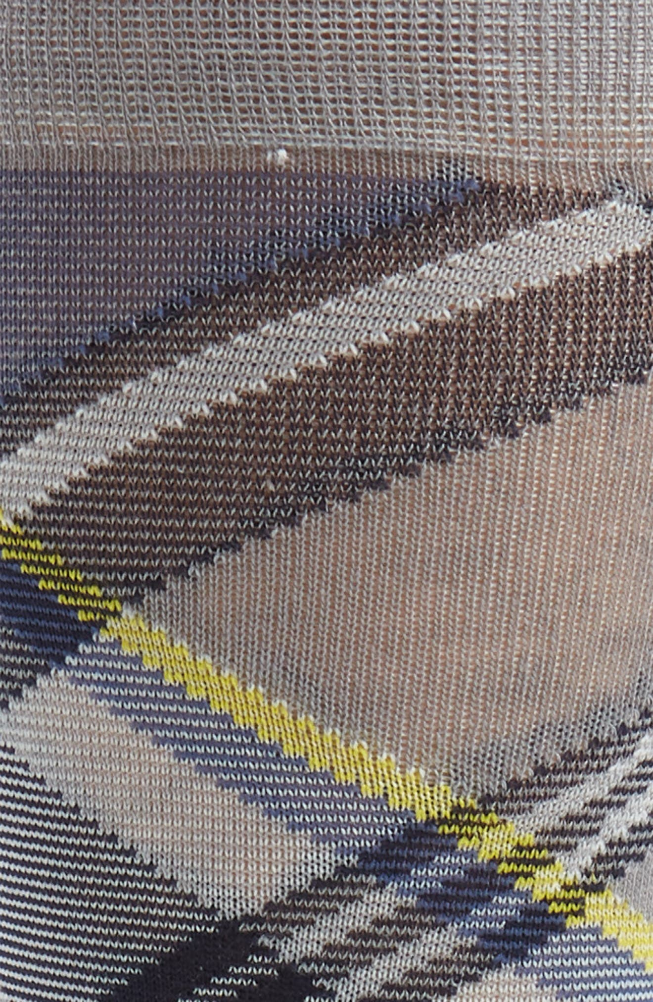 Plaid Socks,                             Alternate thumbnail 2, color,                             Sharkskin