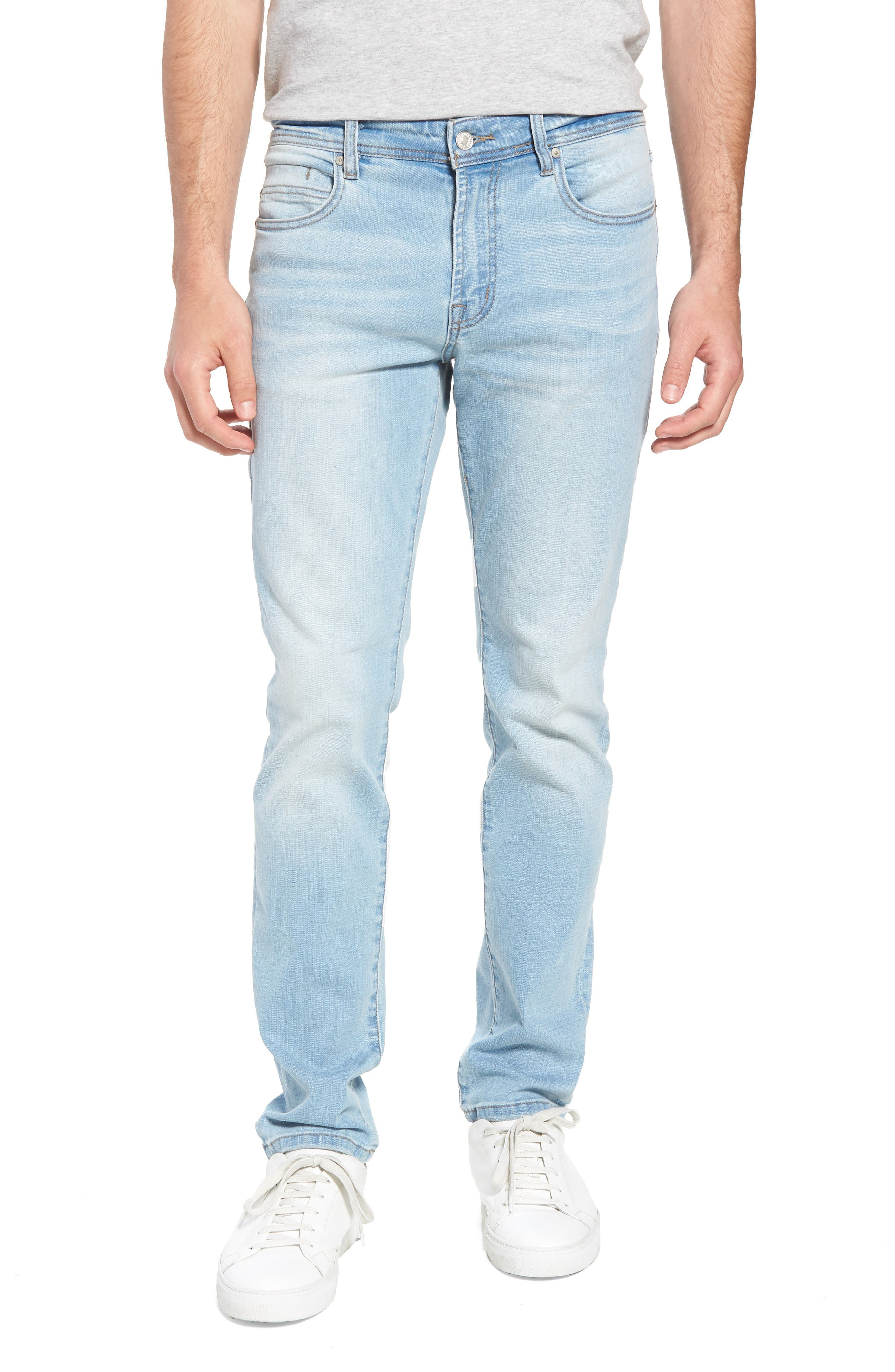 Liverpool Jeans Co. Slim Straight Leg Jeans (Riverside Light)