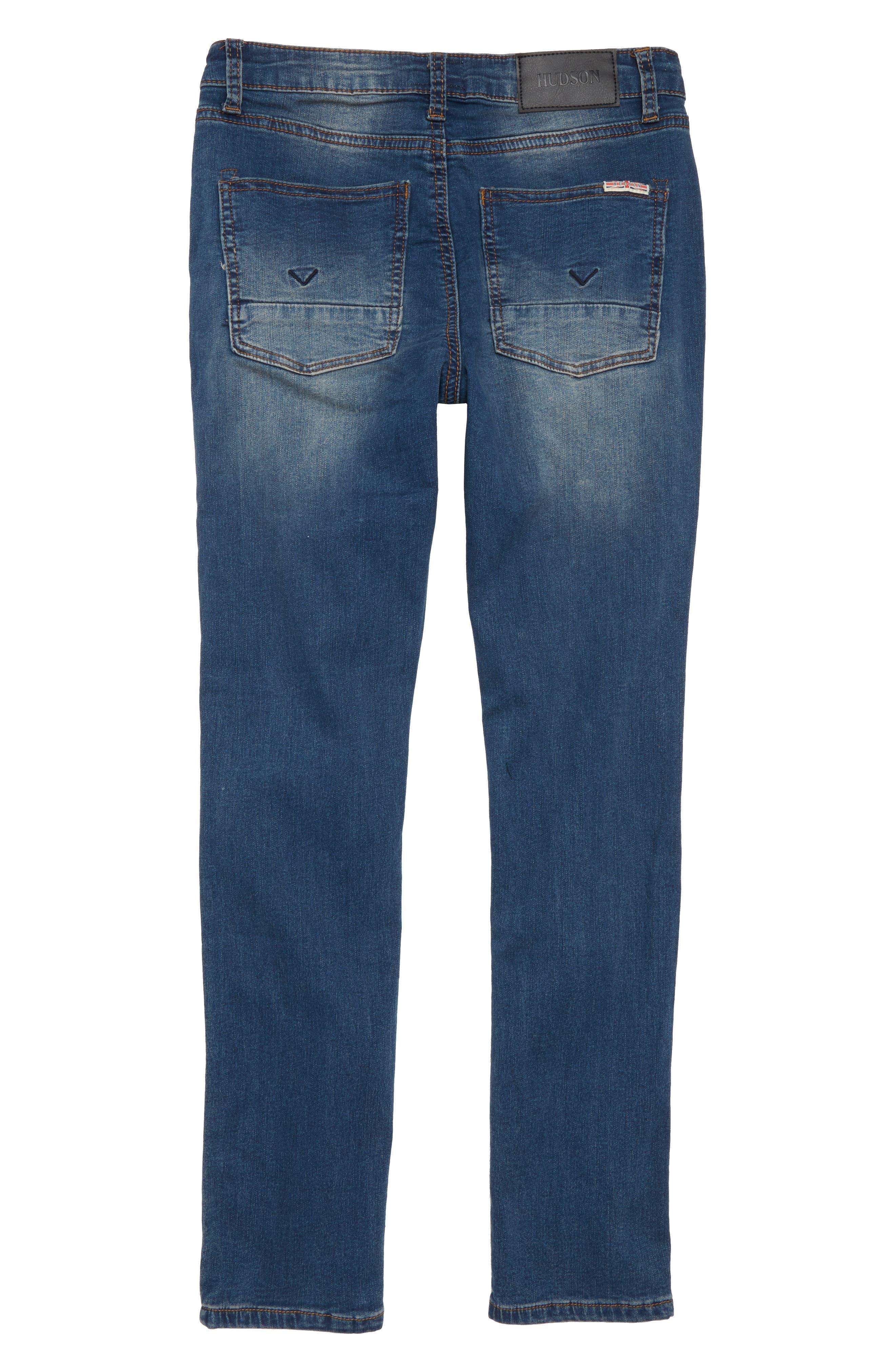 Jagger Slim Fit Straight Leg Jeans,                             Alternate thumbnail 2, color,                             Beaten Blue