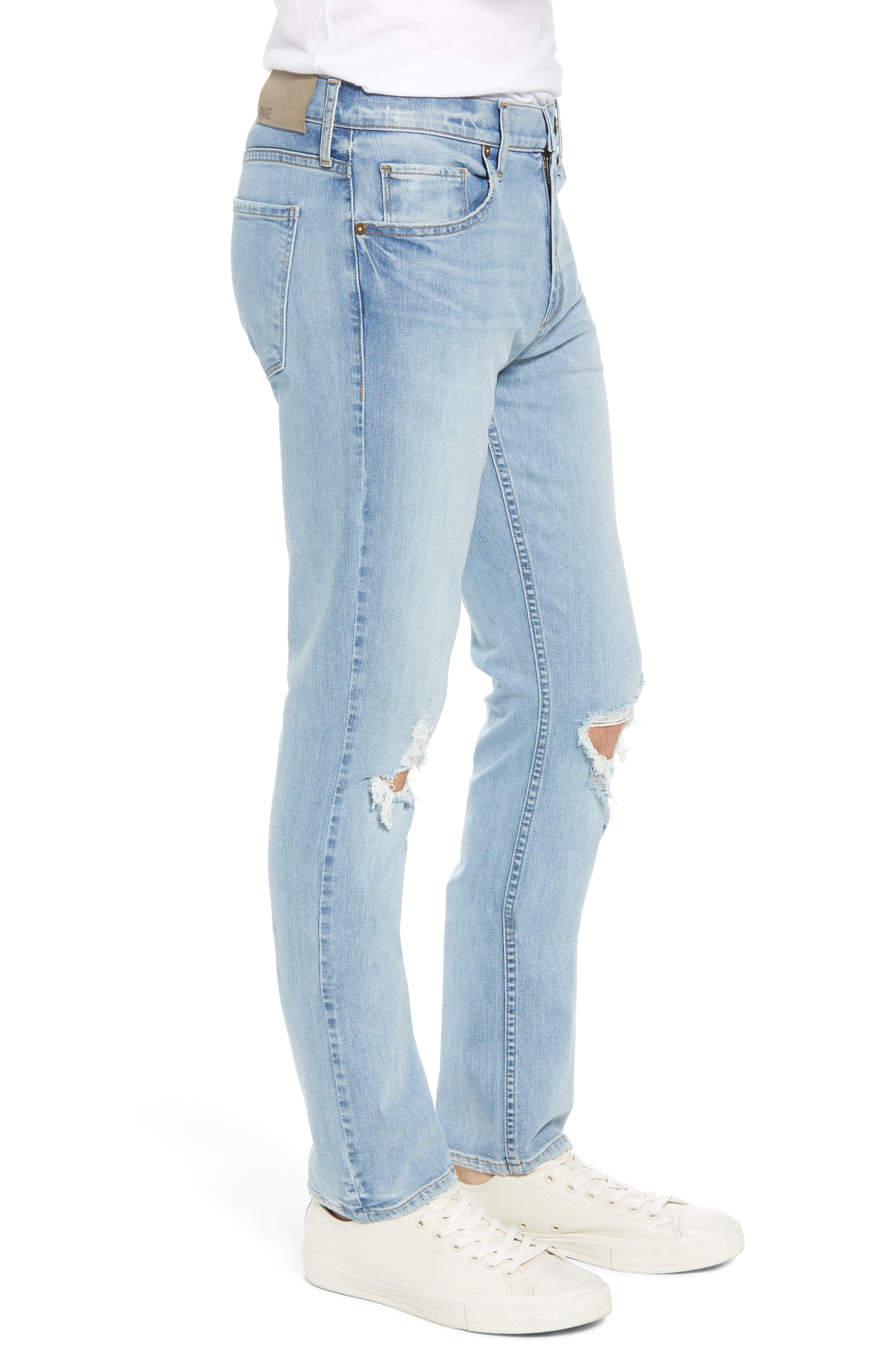 Lennox Slim Fit Jeans,                             Alternate thumbnail 4, color,                             County Destructed