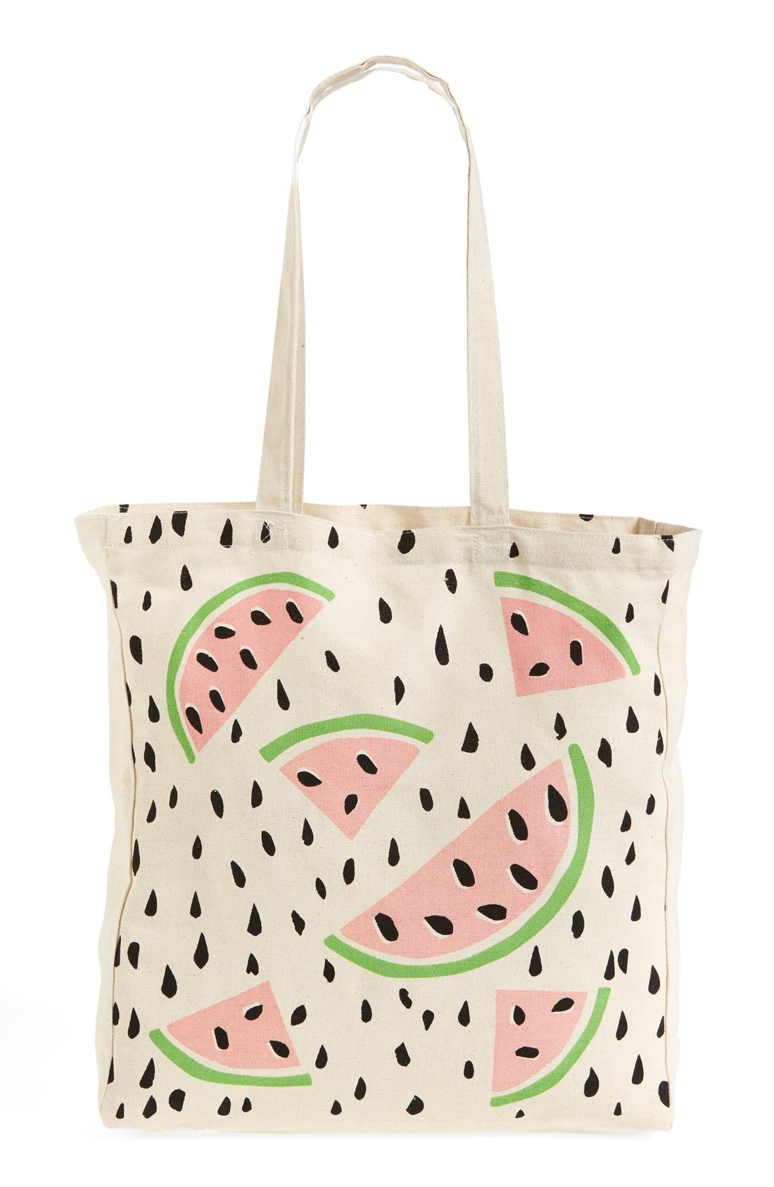 Alternate Image 4  - Tri-Coastal Design 'Watermelon' Tote