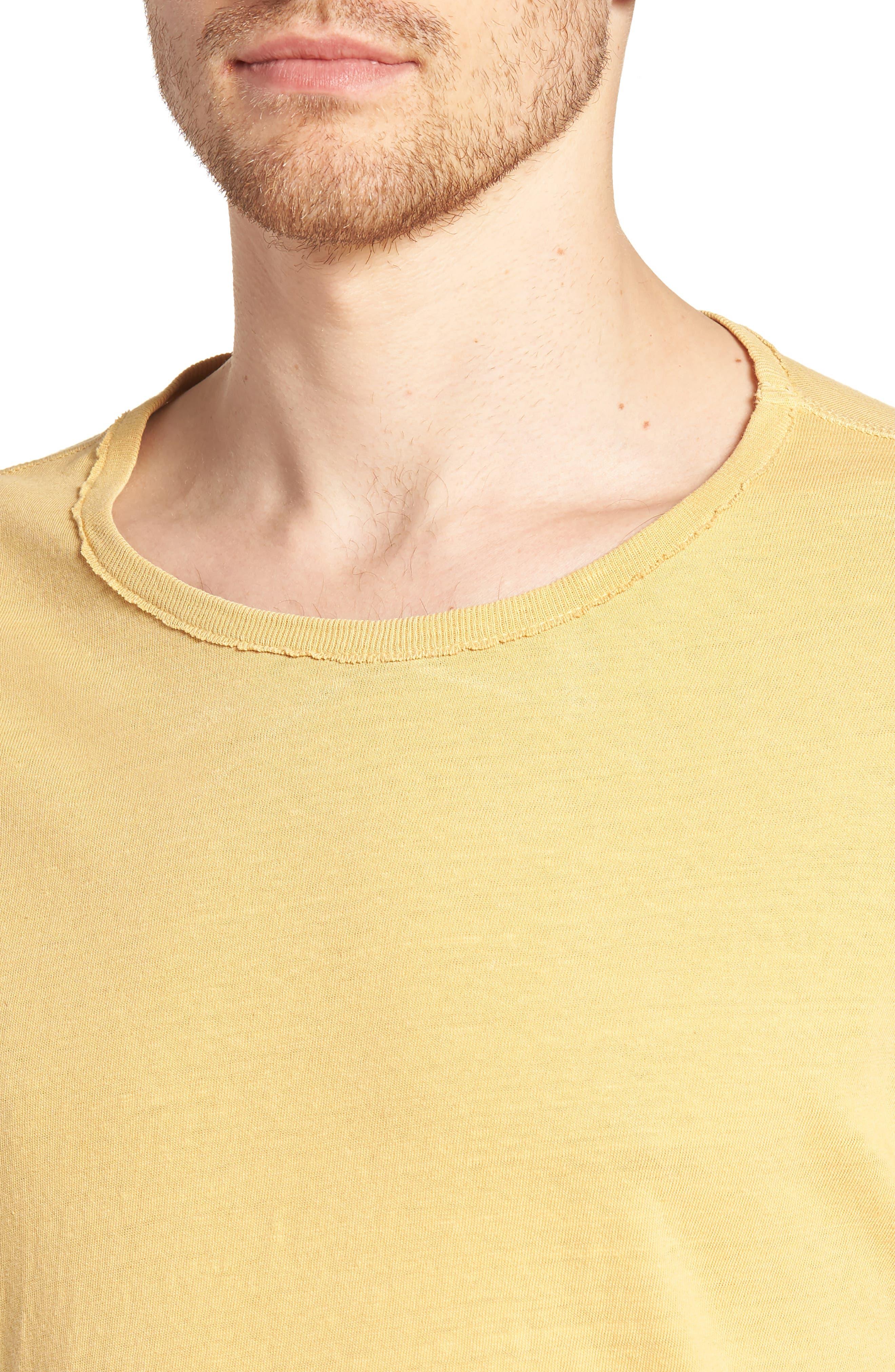 Ramsey Slim Fit Crewneck T-Shirt,                             Alternate thumbnail 4, color,                             Weathered Golden Emmer