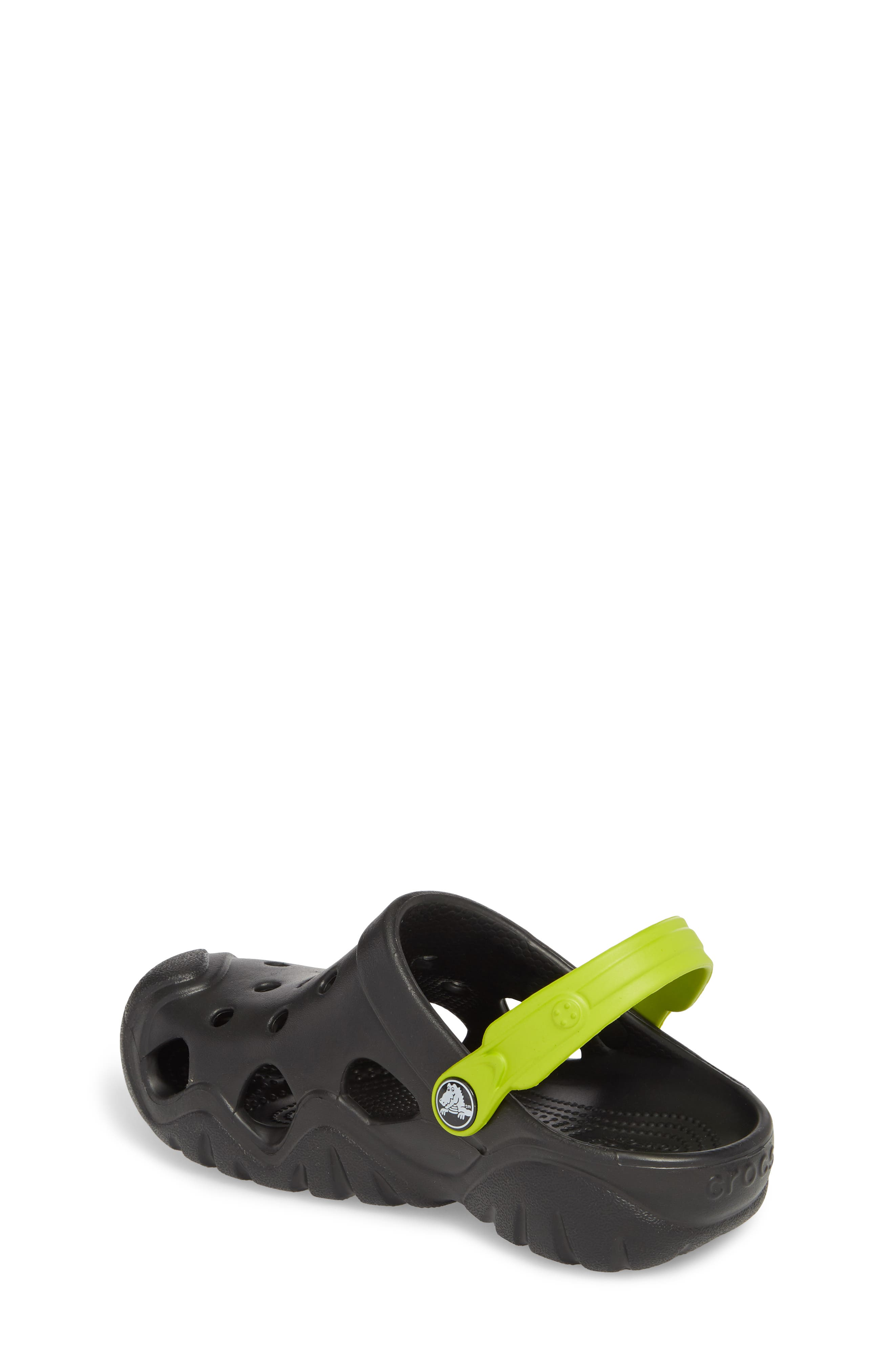 Swiftwater Clogs,                             Alternate thumbnail 2, color,                             Black