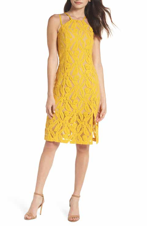 Yellow Cocktail & Party Dresses