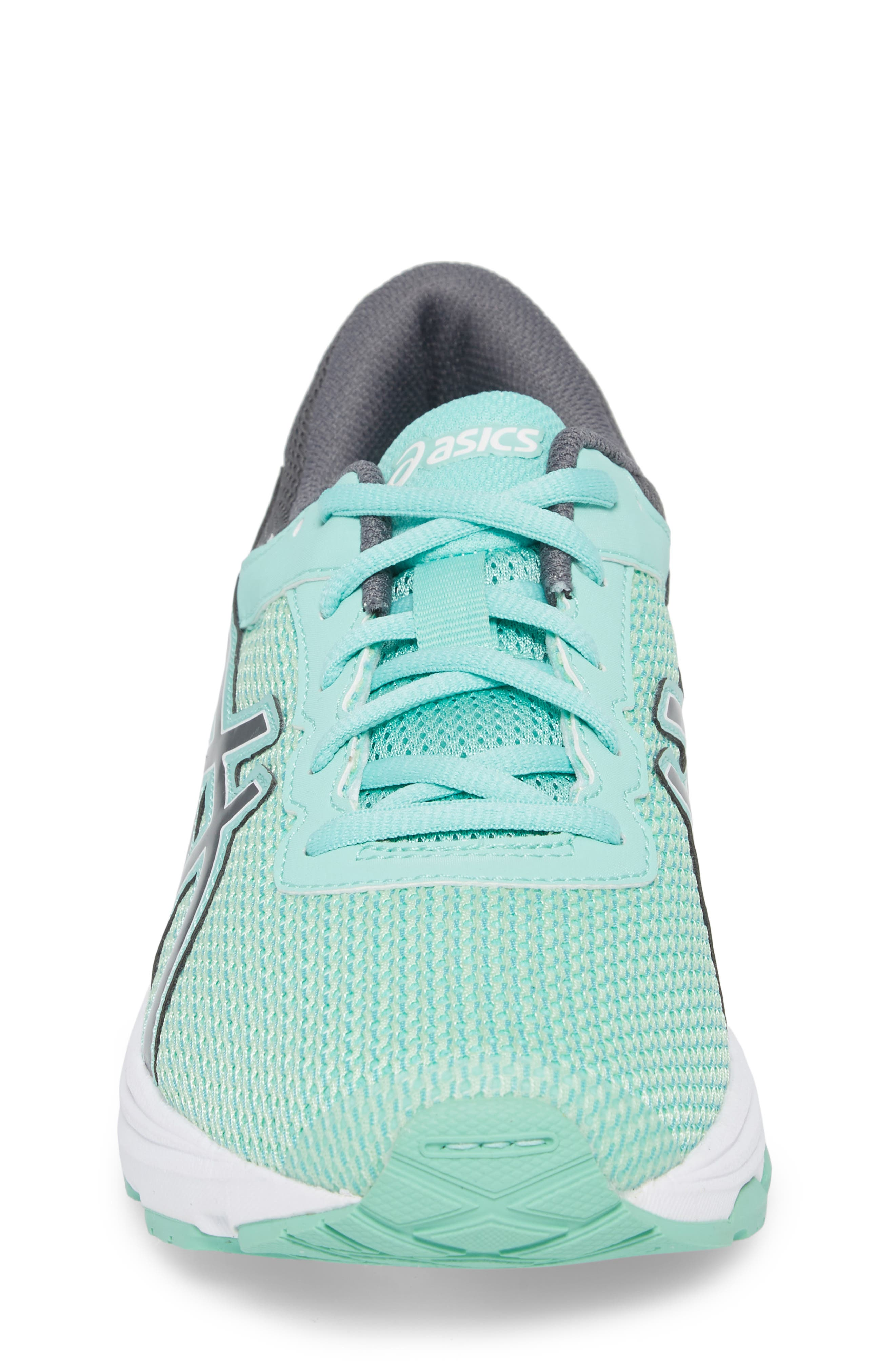 Asics GT-1000<sup>™</sup> 6 GS Sneaker,                             Alternate thumbnail 4, color,                             Carbon/ Opal Green