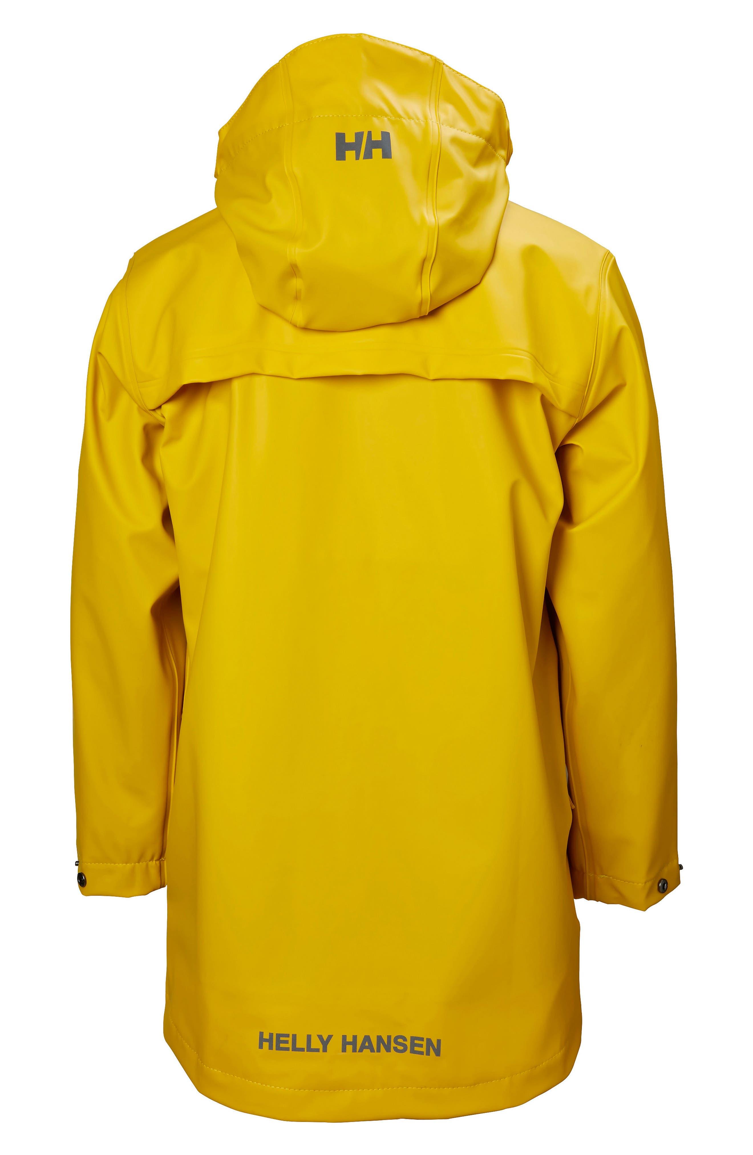 Skudenes Waterproof & Windproof Hooded Jacket,                             Alternate thumbnail 2, color,                             Essential Yellow