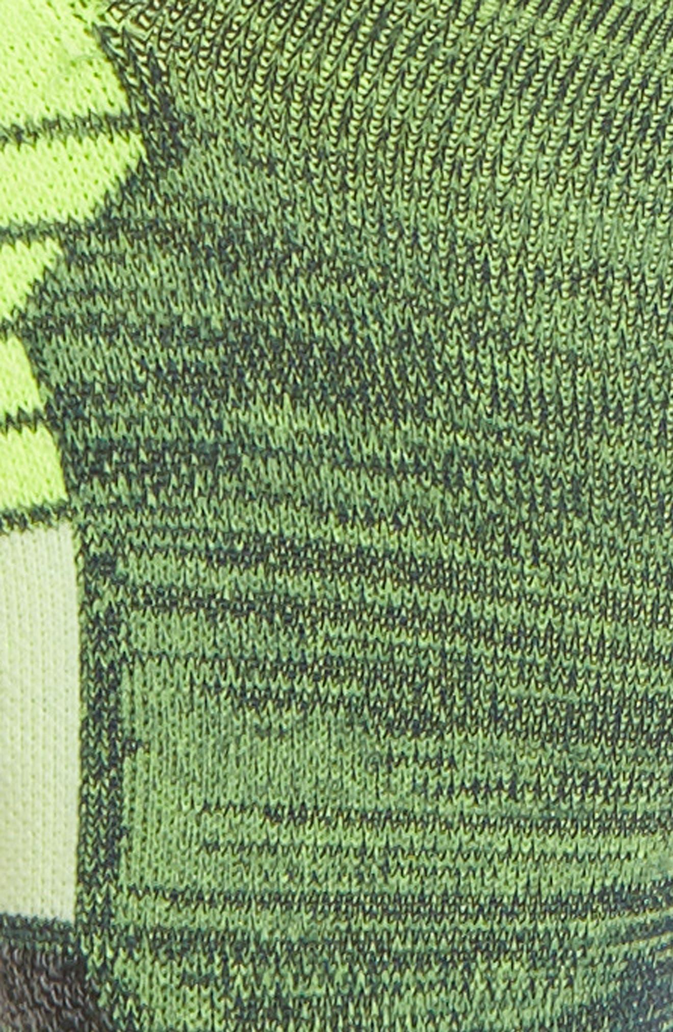 Distance Tab Running Socks,                             Alternate thumbnail 2, color,                             Green