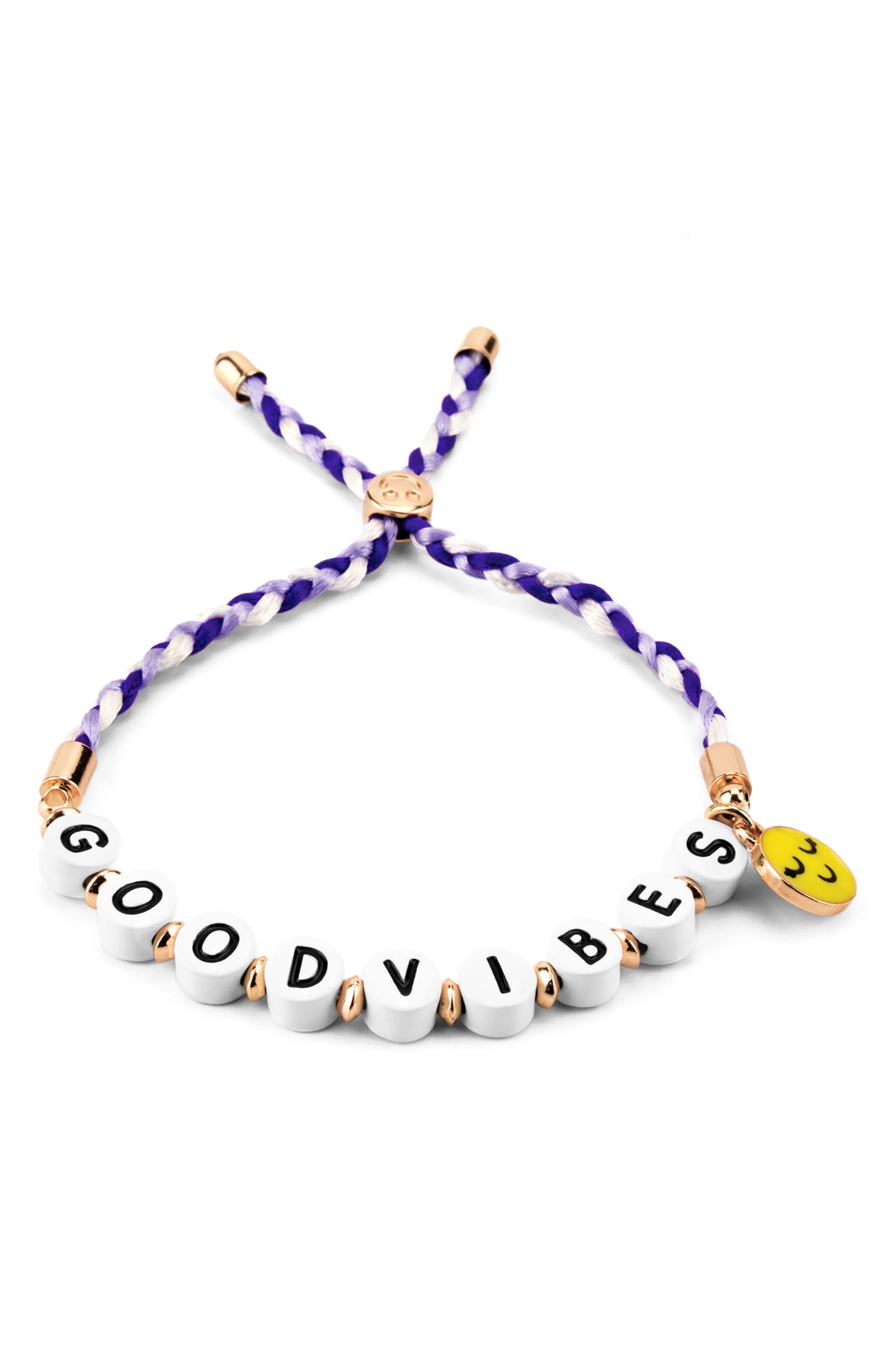 High IntenCity CHARM IT!® Good Vibes Emoji Bracelet (Girls)