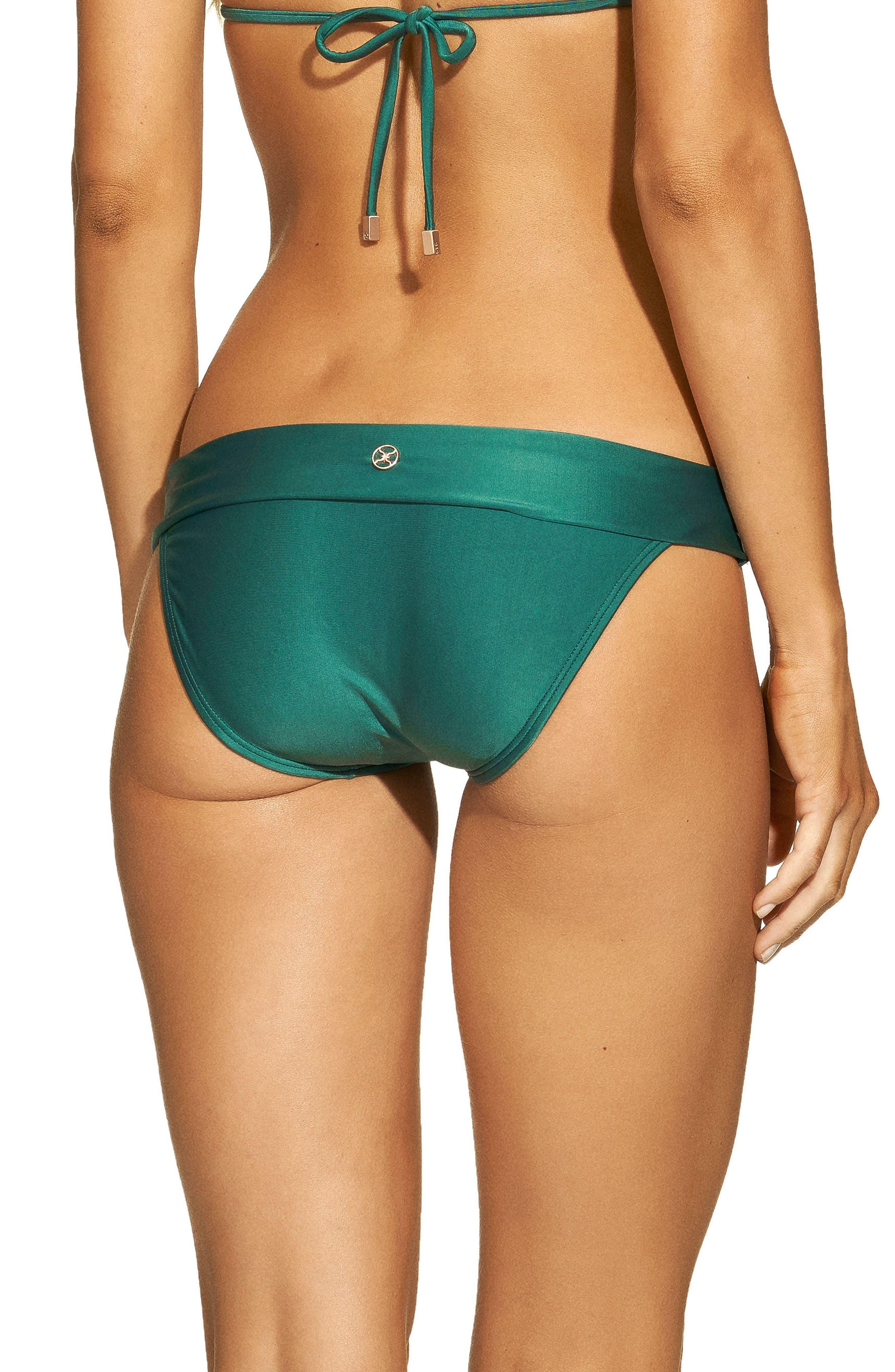 Jasper Bia Bikini Bottoms,                             Alternate thumbnail 2, color,                             Green