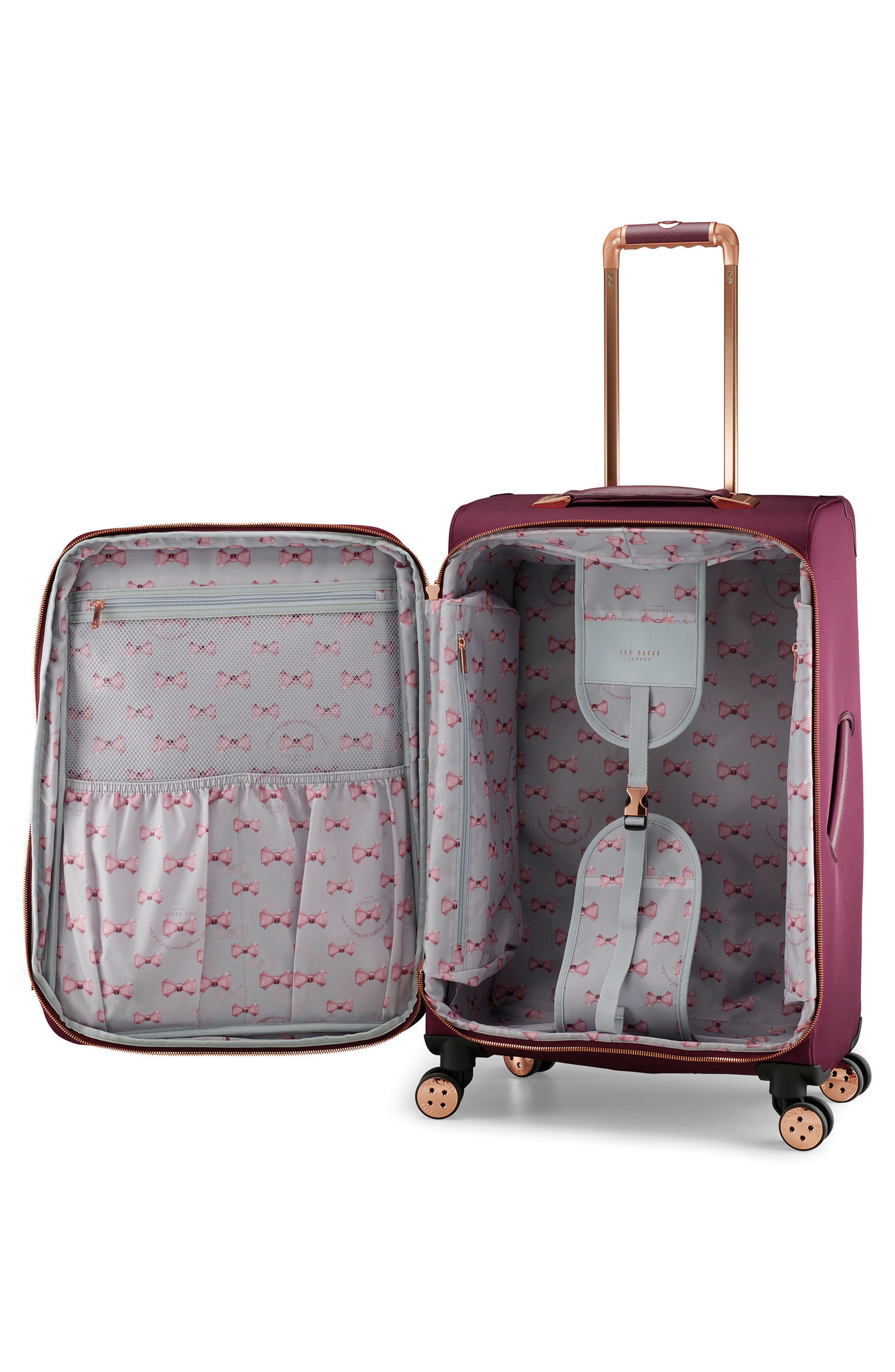 28-Inch Spinner Trolley Packing Case,                             Alternate thumbnail 2, color,                             Burgundy
