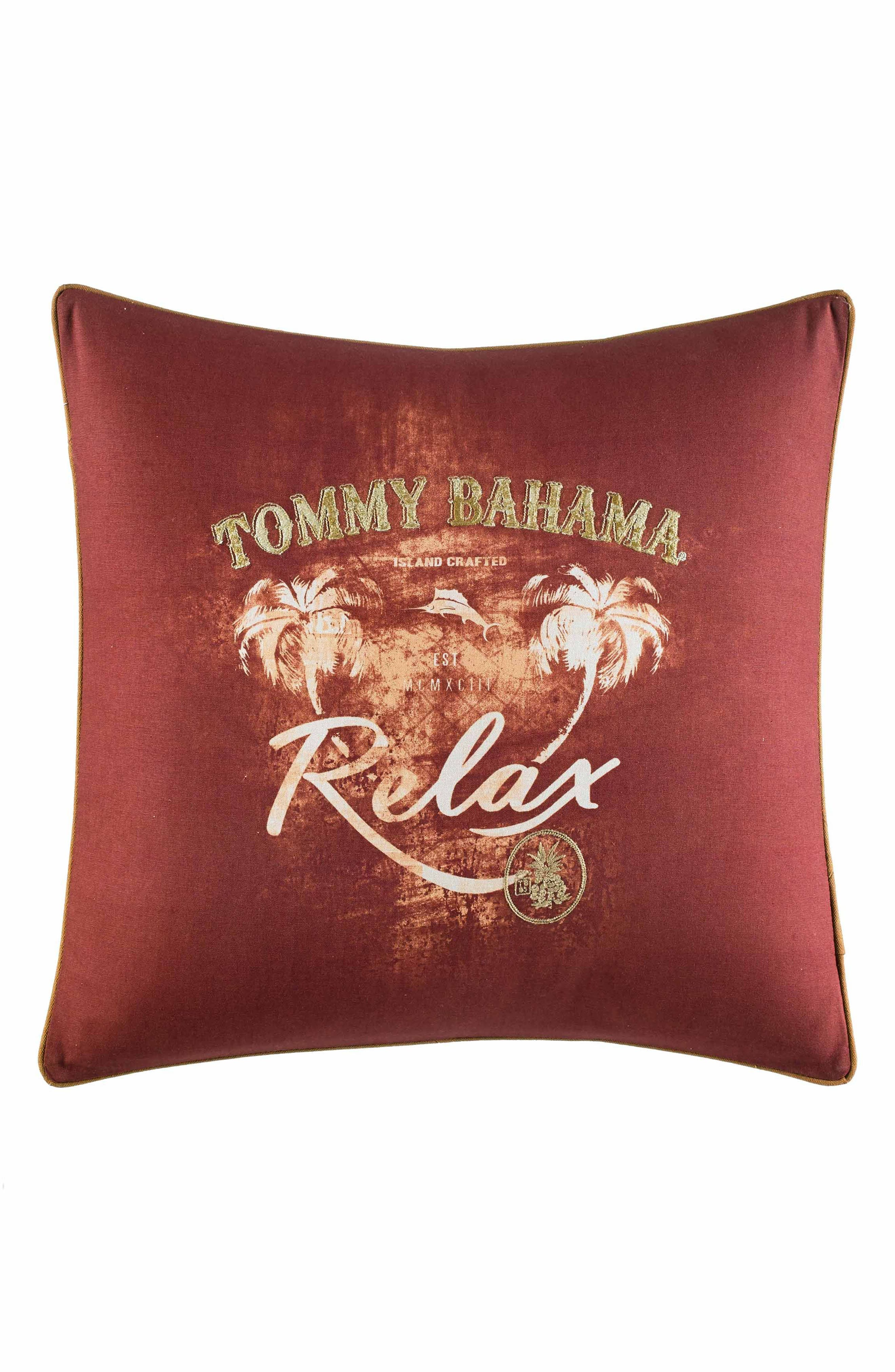 Kamari Relax Accent Pillow,                         Main,                         color, Dark Red