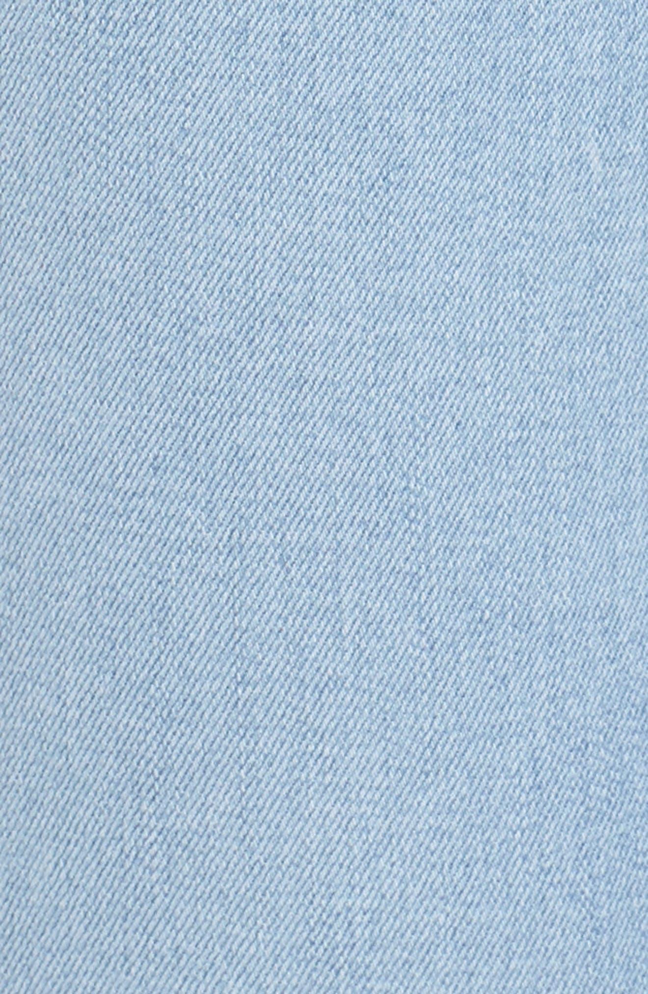 Release Hem Skinny Jeans,                             Alternate thumbnail 6, color,                             Ashley