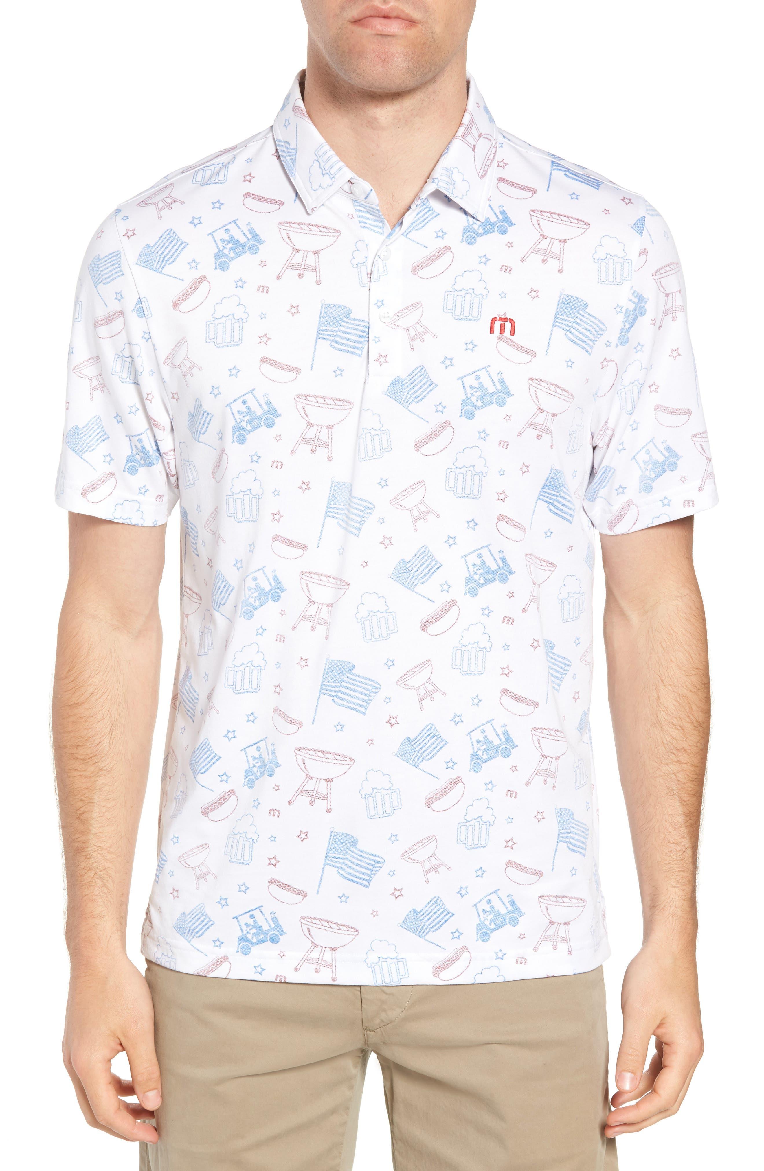 Ahh Yeah Regular Fit Short Sleeve Sport Shirt,                         Main,                         color, White