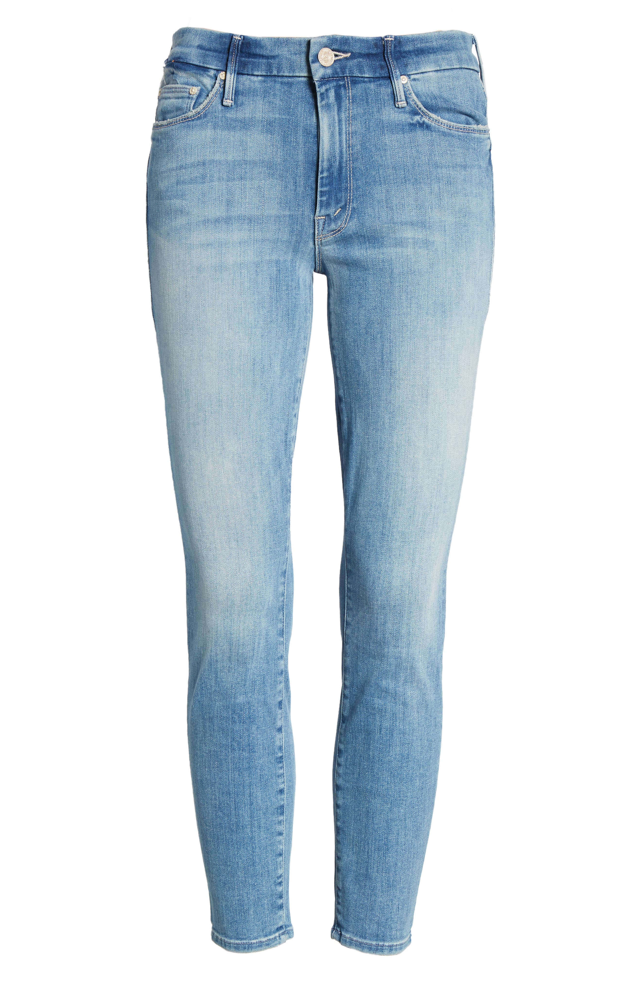 The Looker Crop Skinny Jeans,                             Alternate thumbnail 7, color,                             Well Played