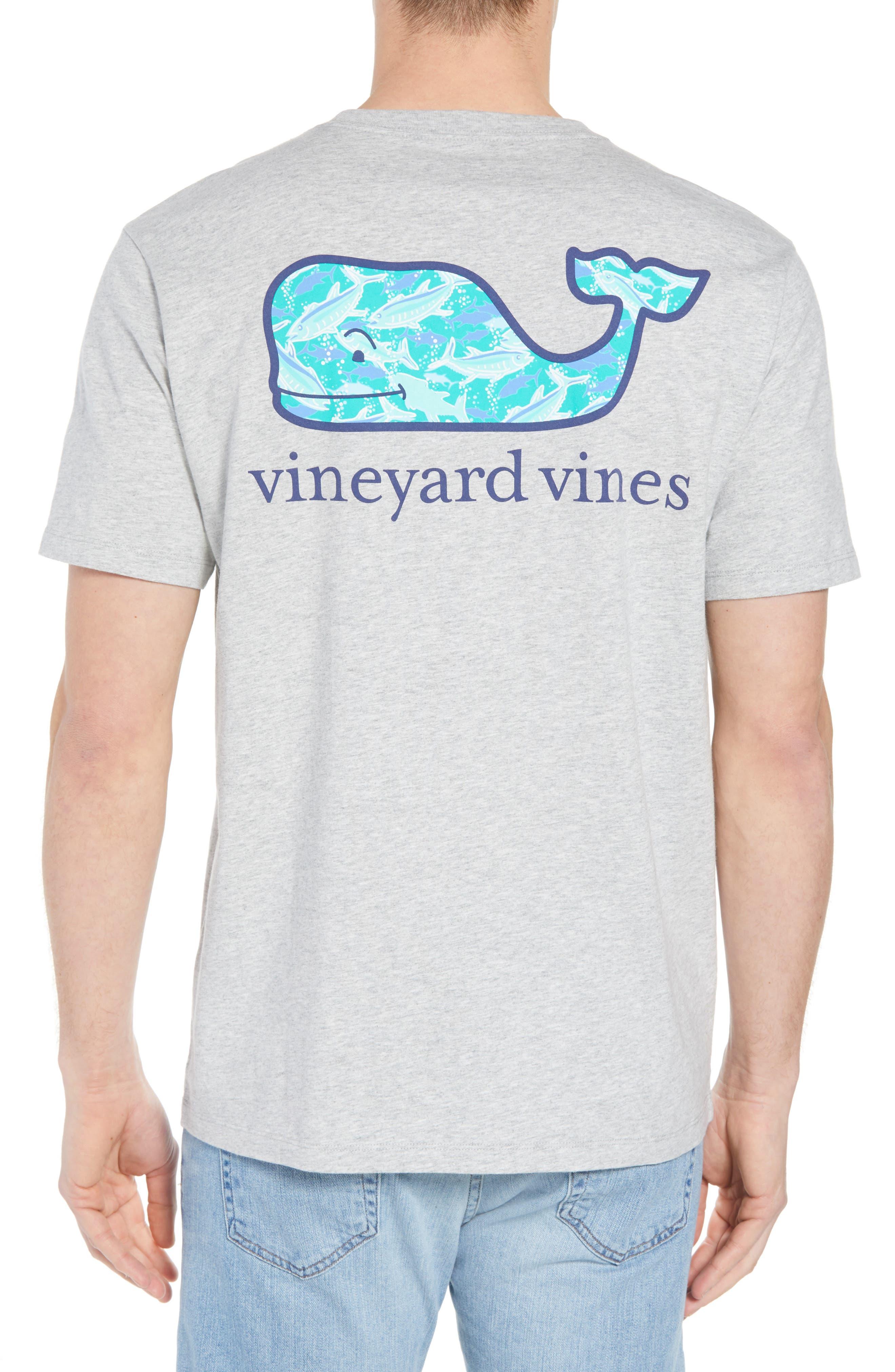 School of Tuna Regular Fit Pocket T-Shirt,                             Alternate thumbnail 2, color,                             Gray Heather