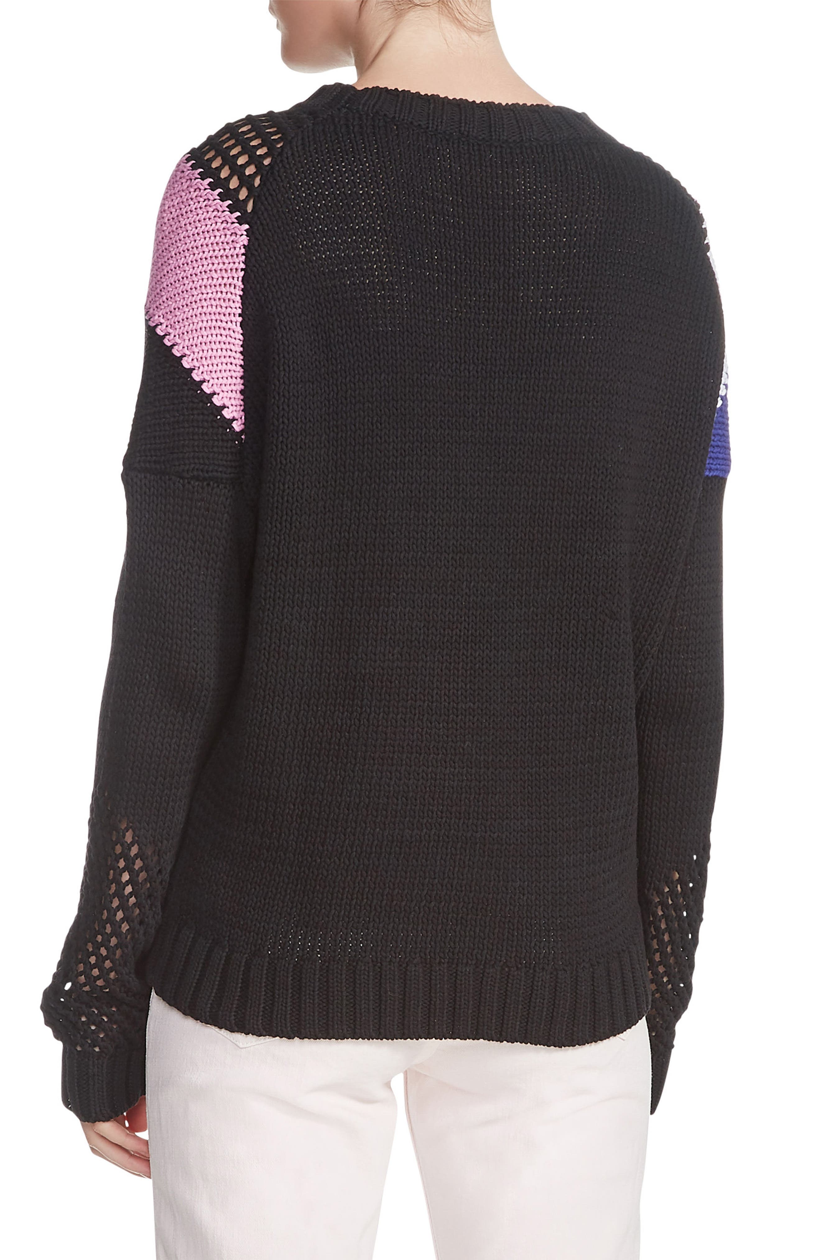 Marylene Sweater,                             Alternate thumbnail 2, color,                             Black