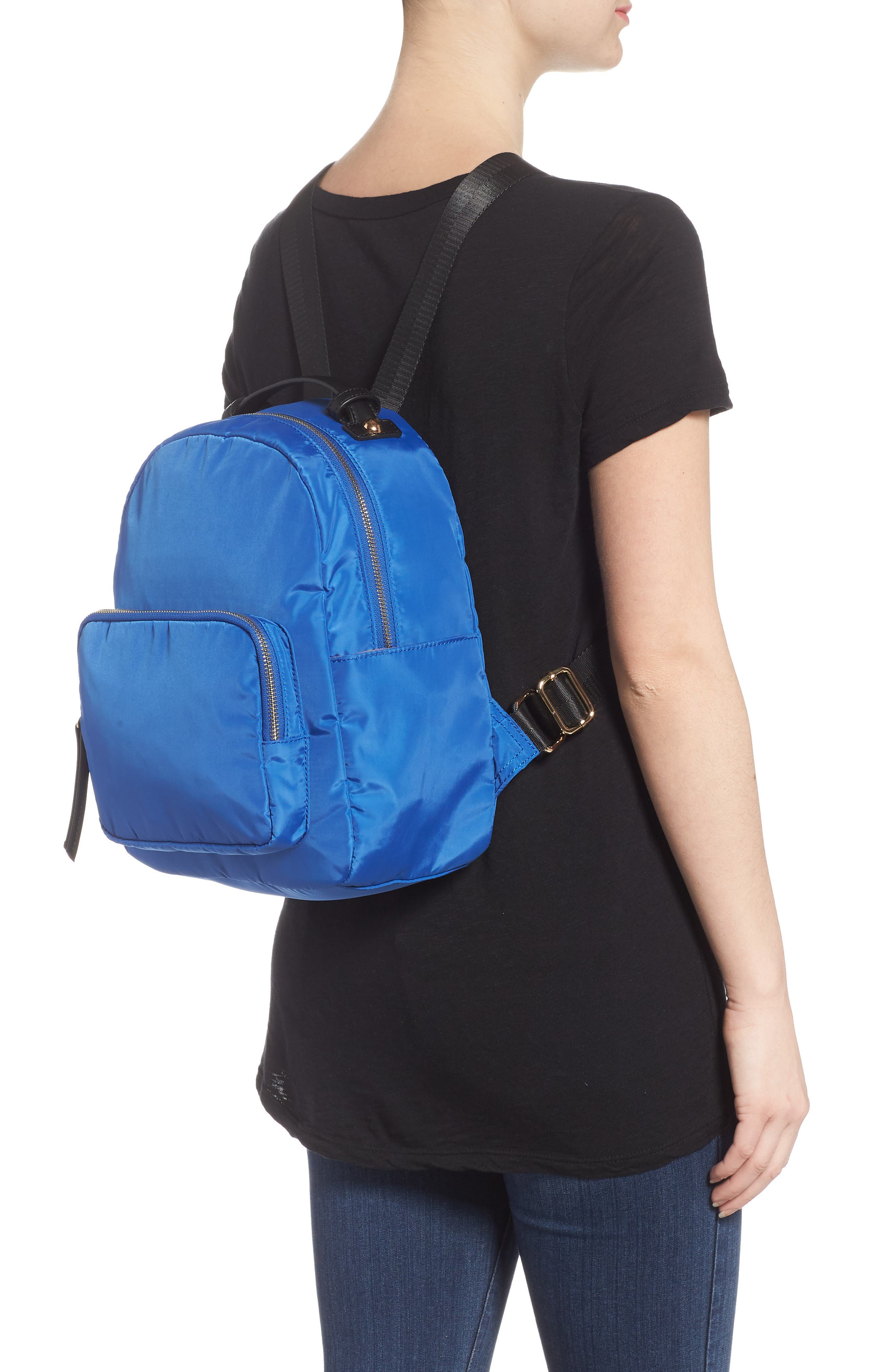 Nylon Backpack,                             Alternate thumbnail 2, color,                             Cobalt