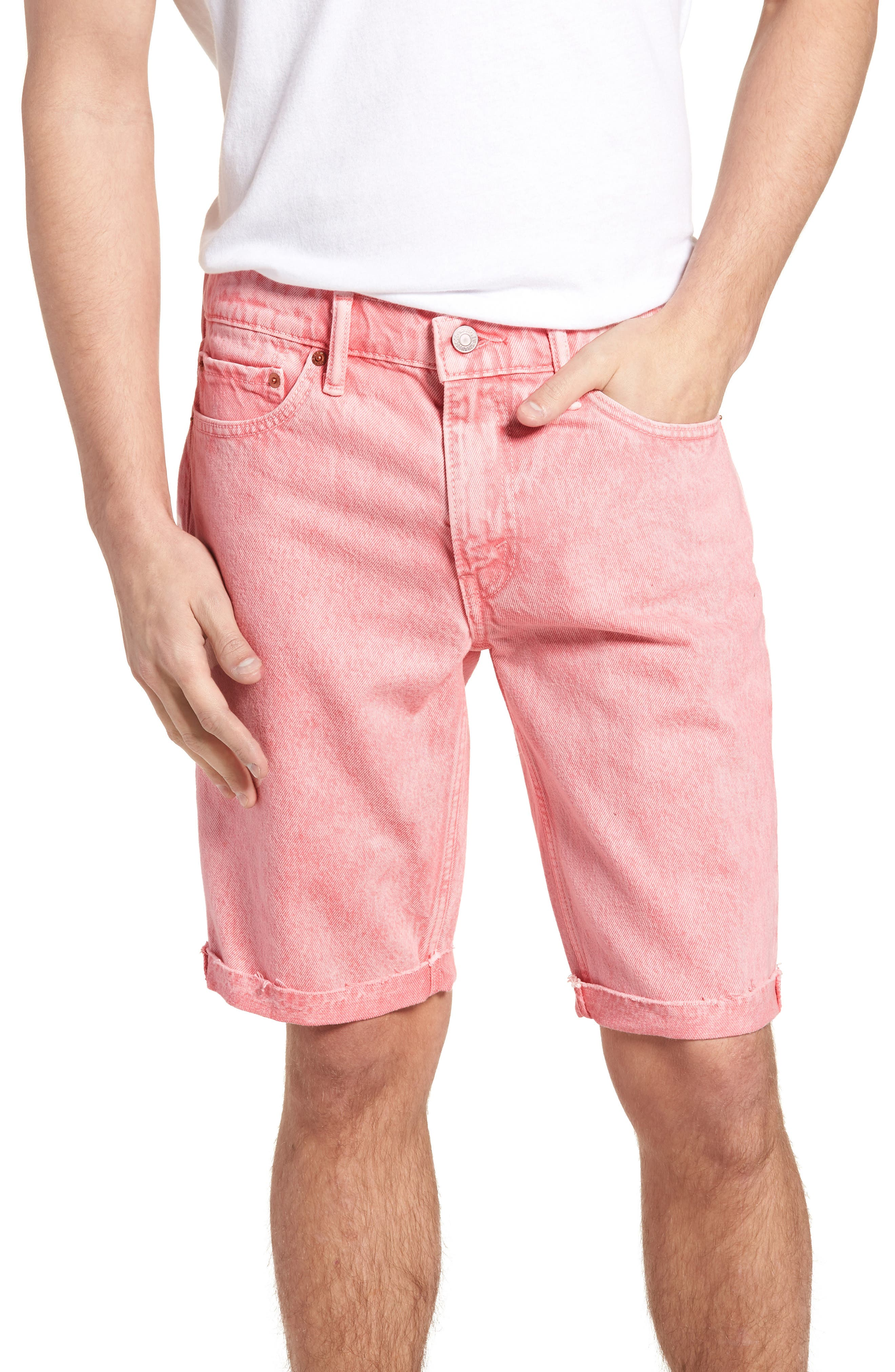 511<sup>™</sup> Cutoff Denim Shorts,                         Main,                         color, Glinda Short