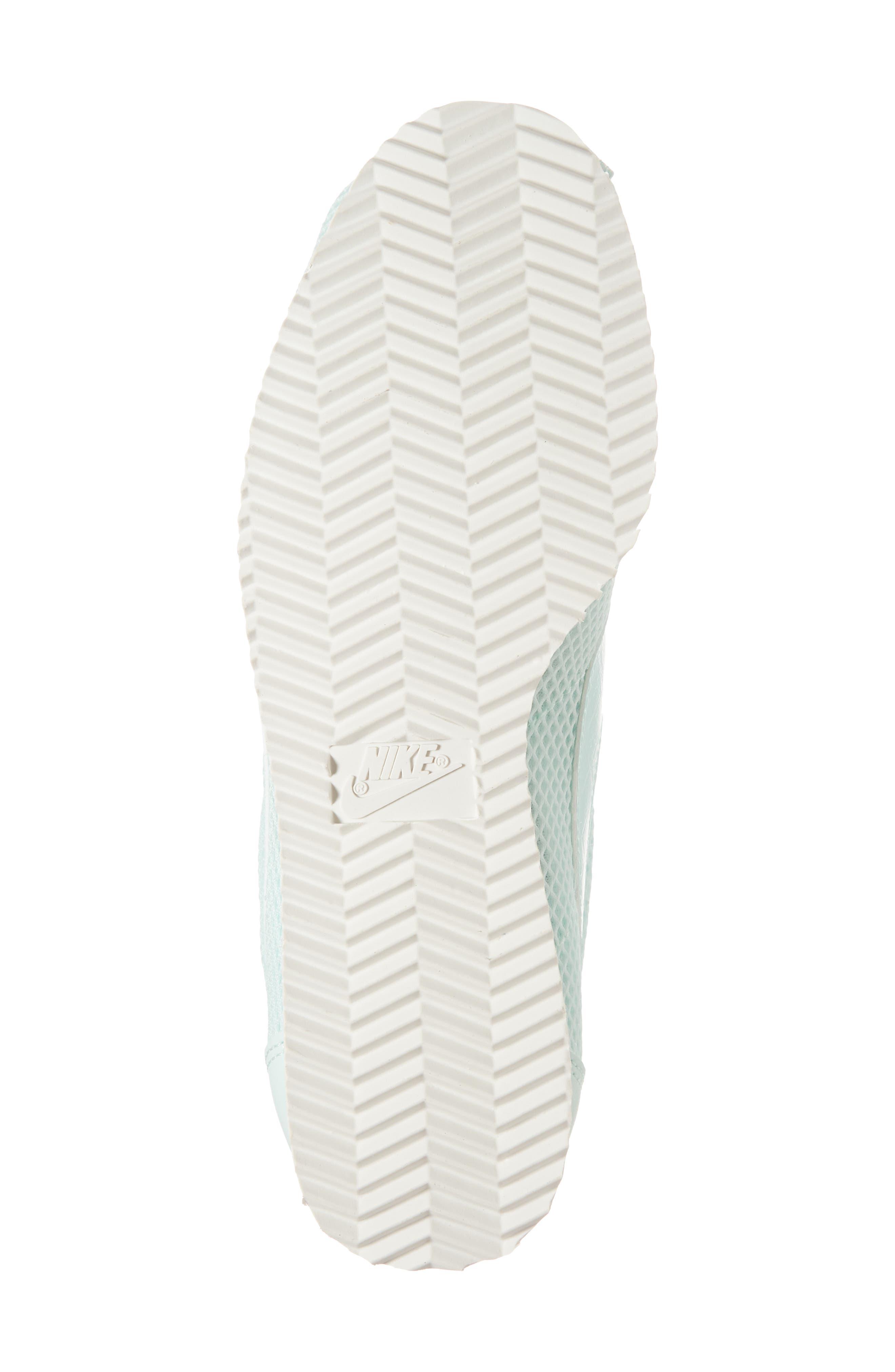 Classic Cortez Premium XLV Sneaker,                             Alternate thumbnail 6, color,                             Igloo/ Igloo/ Summit White