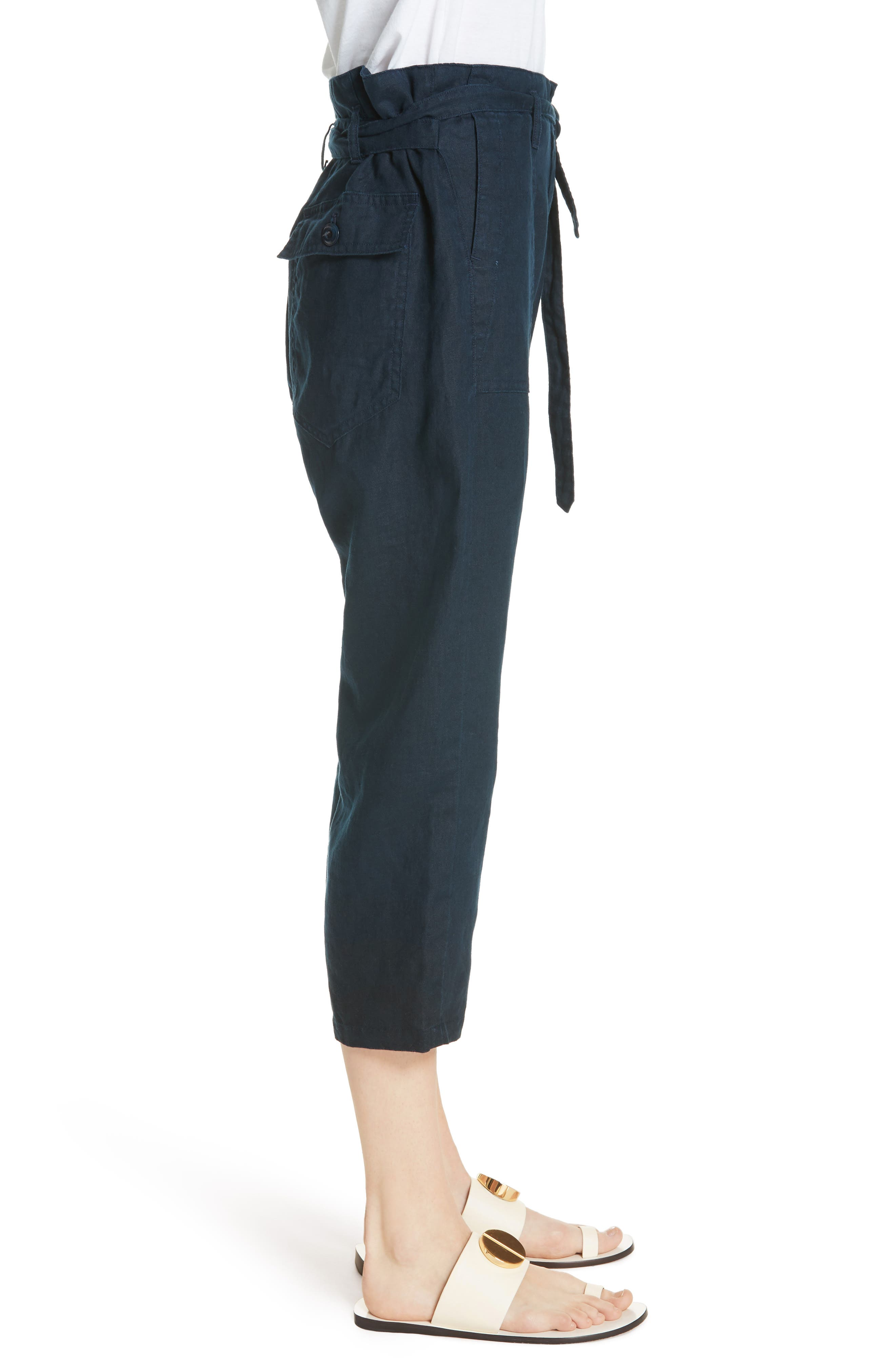 The Convertible Trousers,                             Alternate thumbnail 3, color,                             Navy