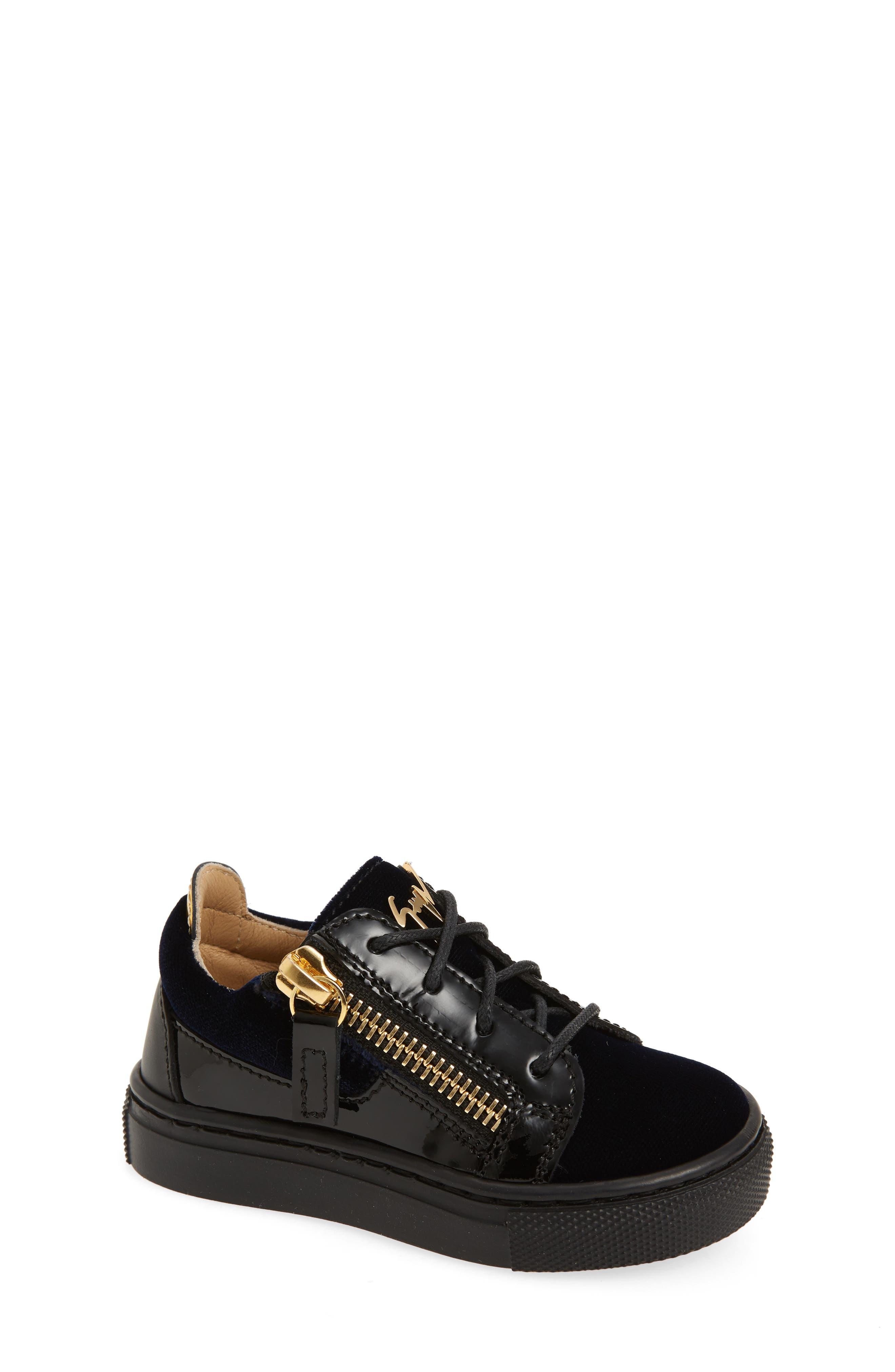 Giuseppe Zanotti London Sneaker (Baby, Walker, Toddler & Little Kid)