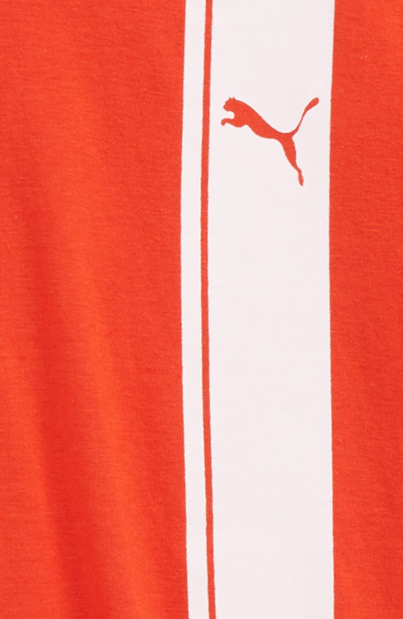 Logo T-Shirt,                             Alternate thumbnail 2, color,                             Flame Scarlet